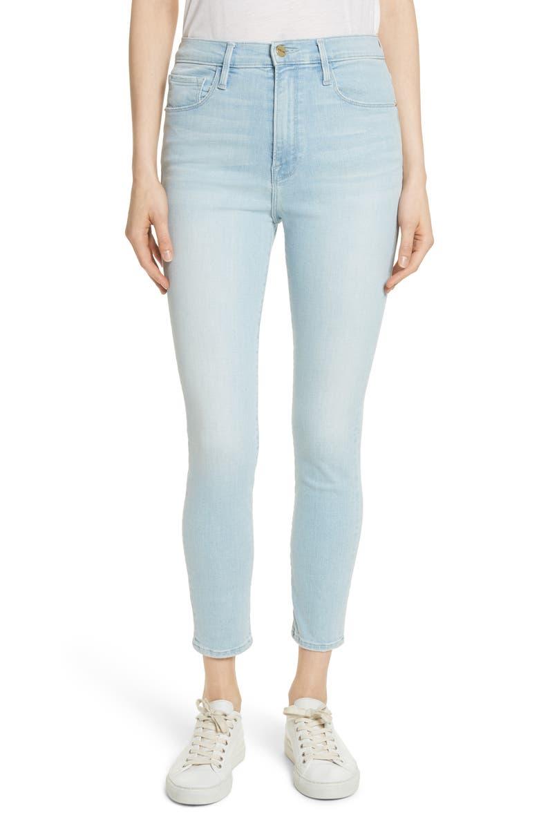Ali High Waist Ankle Skinny Jeans