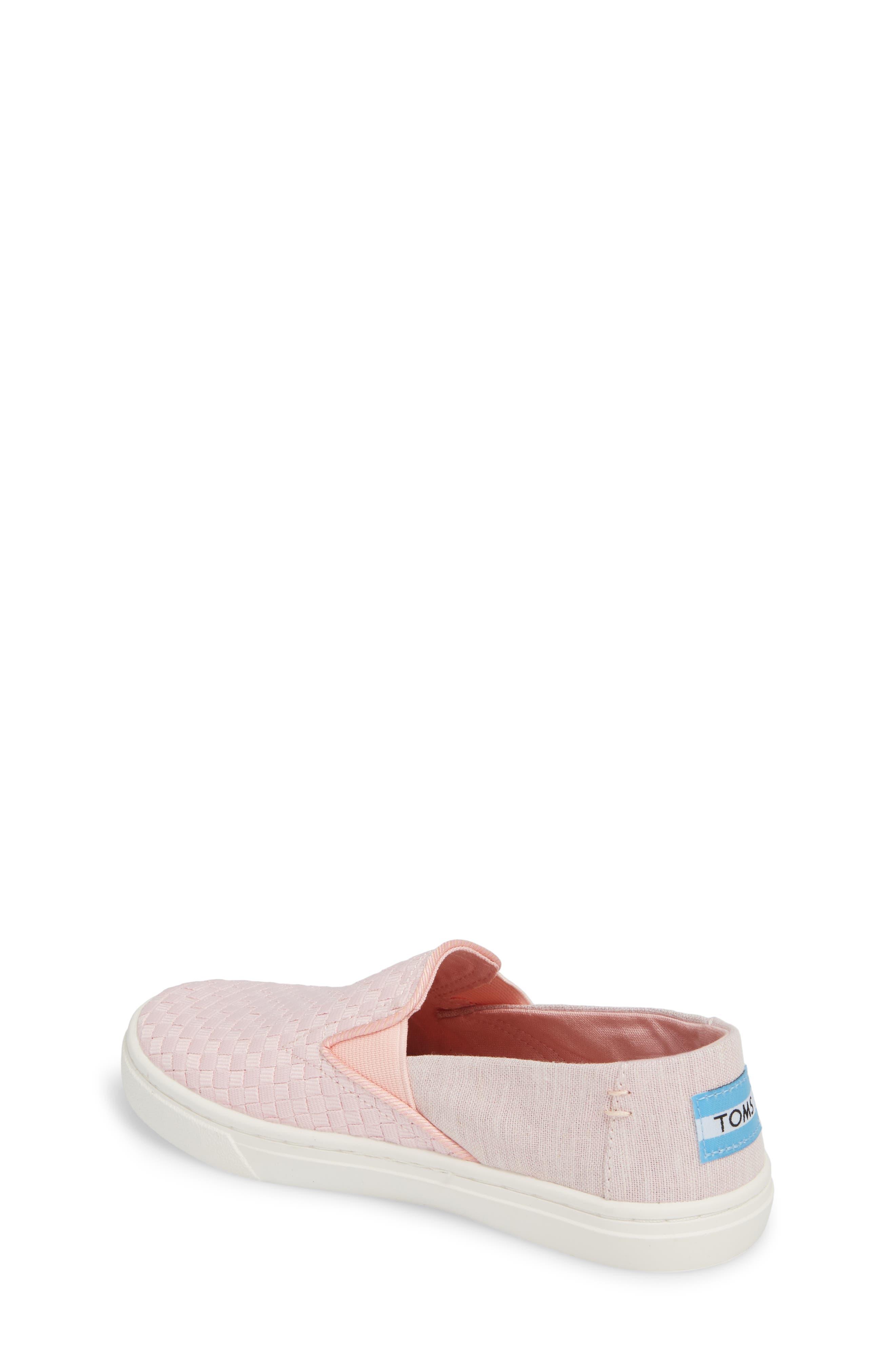 Luca Slip-On Sneaker,                             Alternate thumbnail 2, color,                             Blossom Basketweave