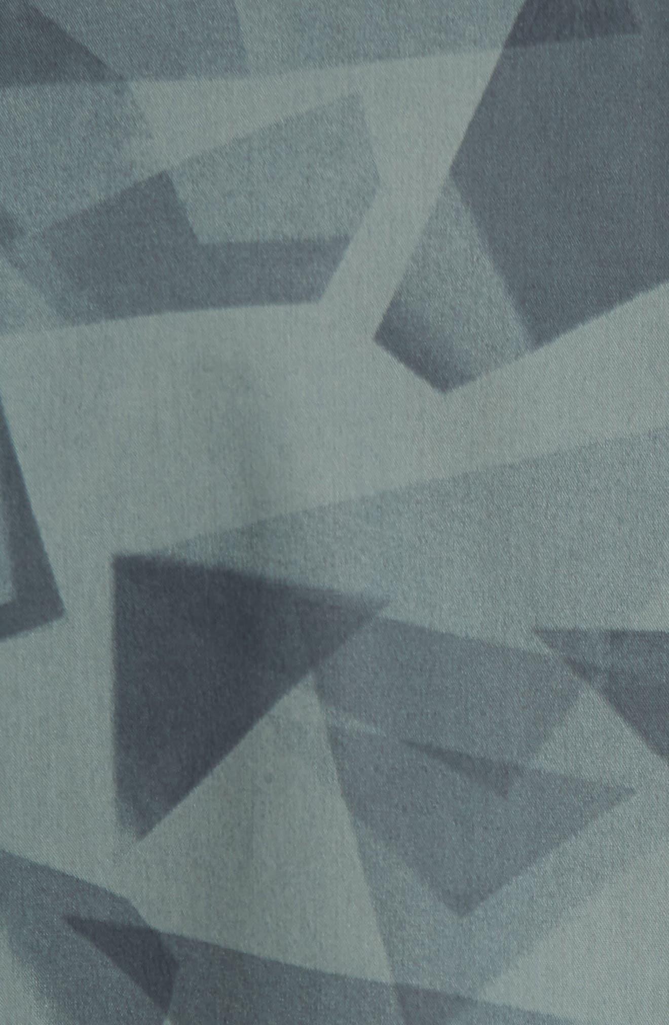Alternate Image 5  - Calibrate Geo Print Sport Shirt