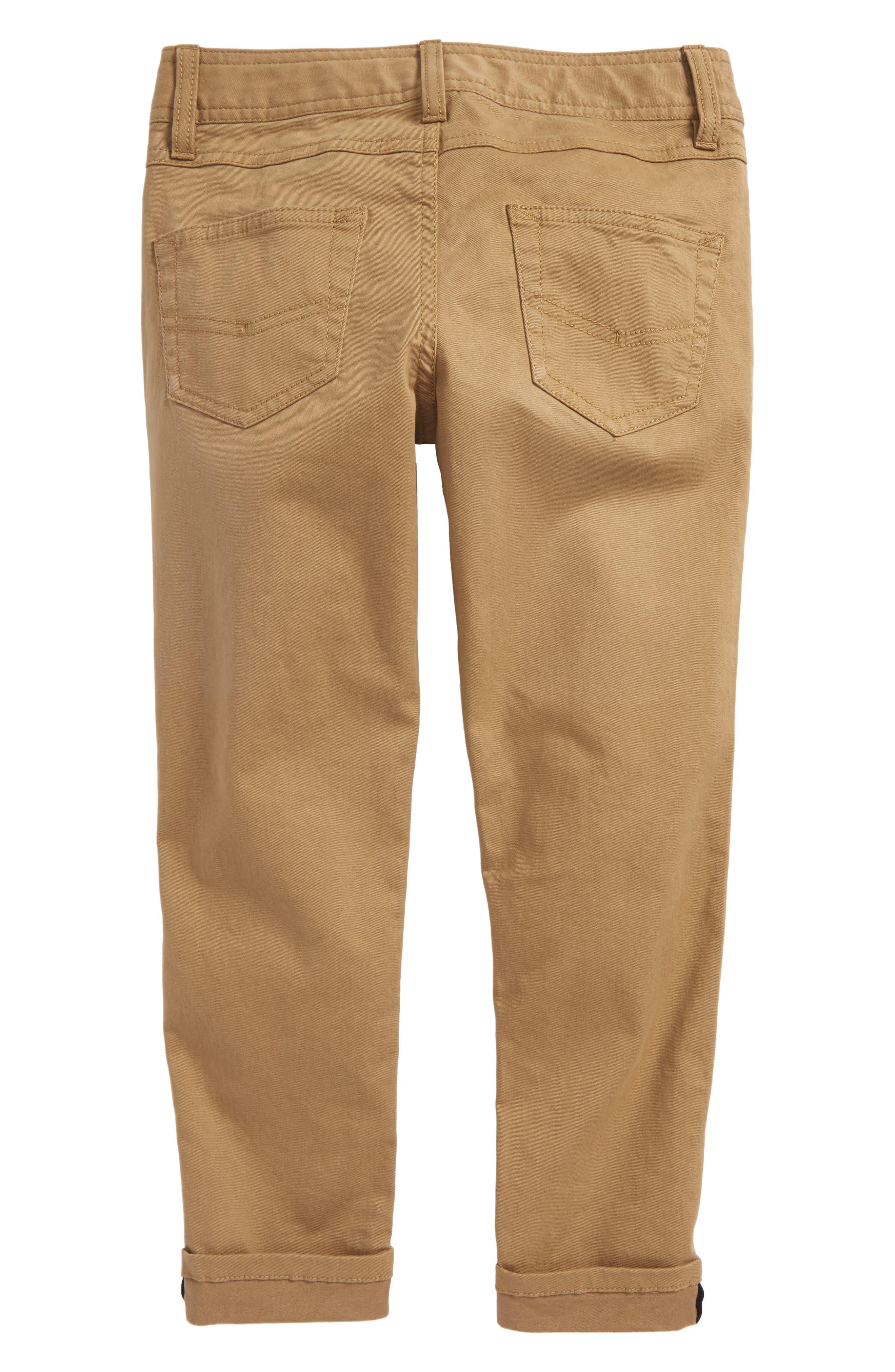 Twill Pants,                             Alternate thumbnail 2, color,                             Tan Kelp