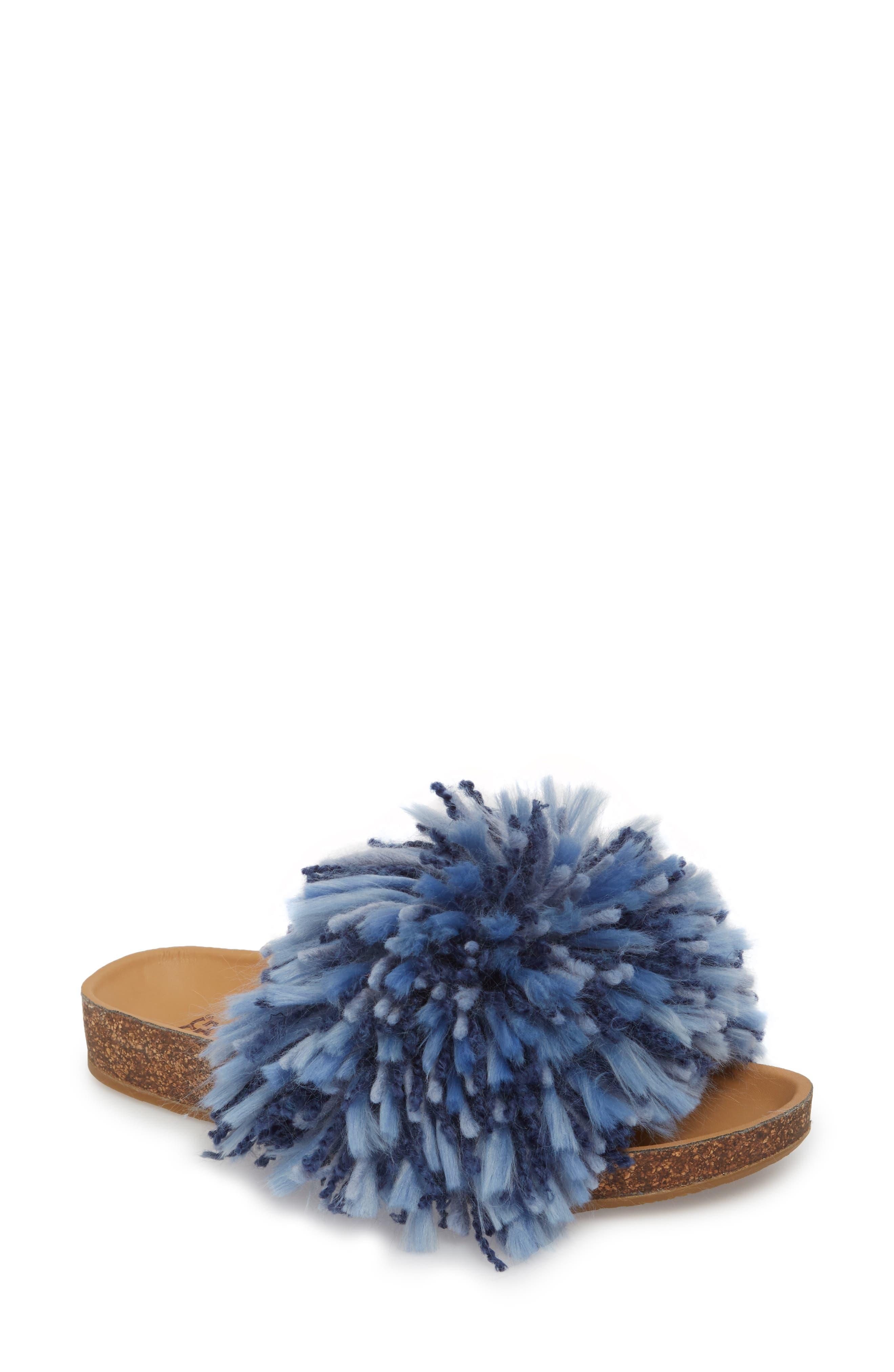 UGG® Cindi Yarn Pom Sandal (Women)