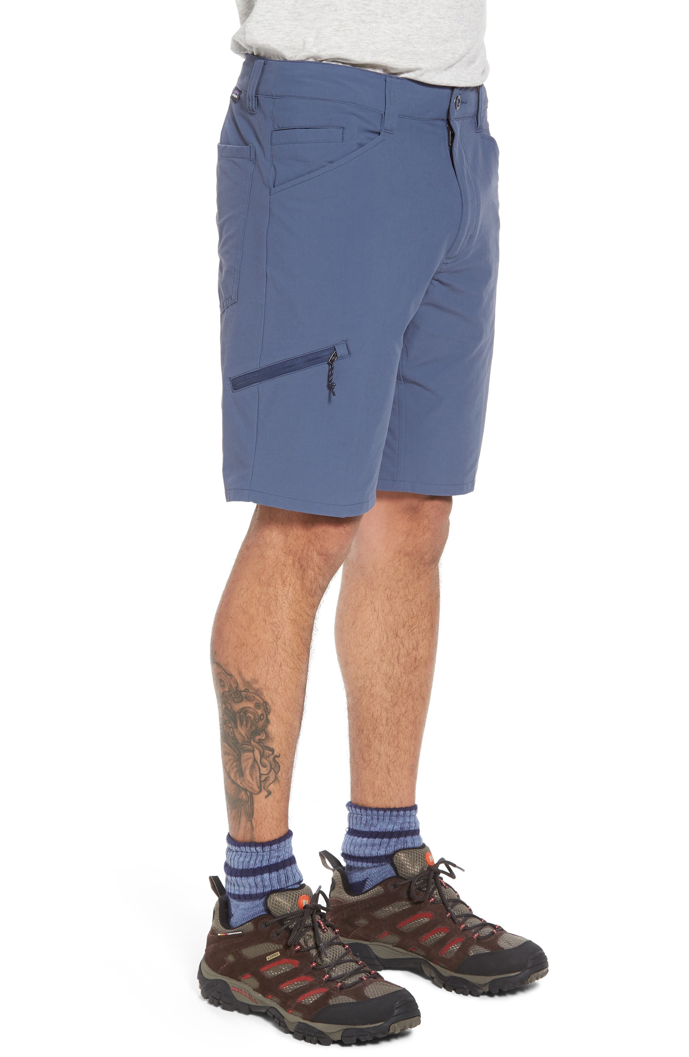 Quandary Shorts,                             Alternate thumbnail 3, color,                             Dolomite Blue