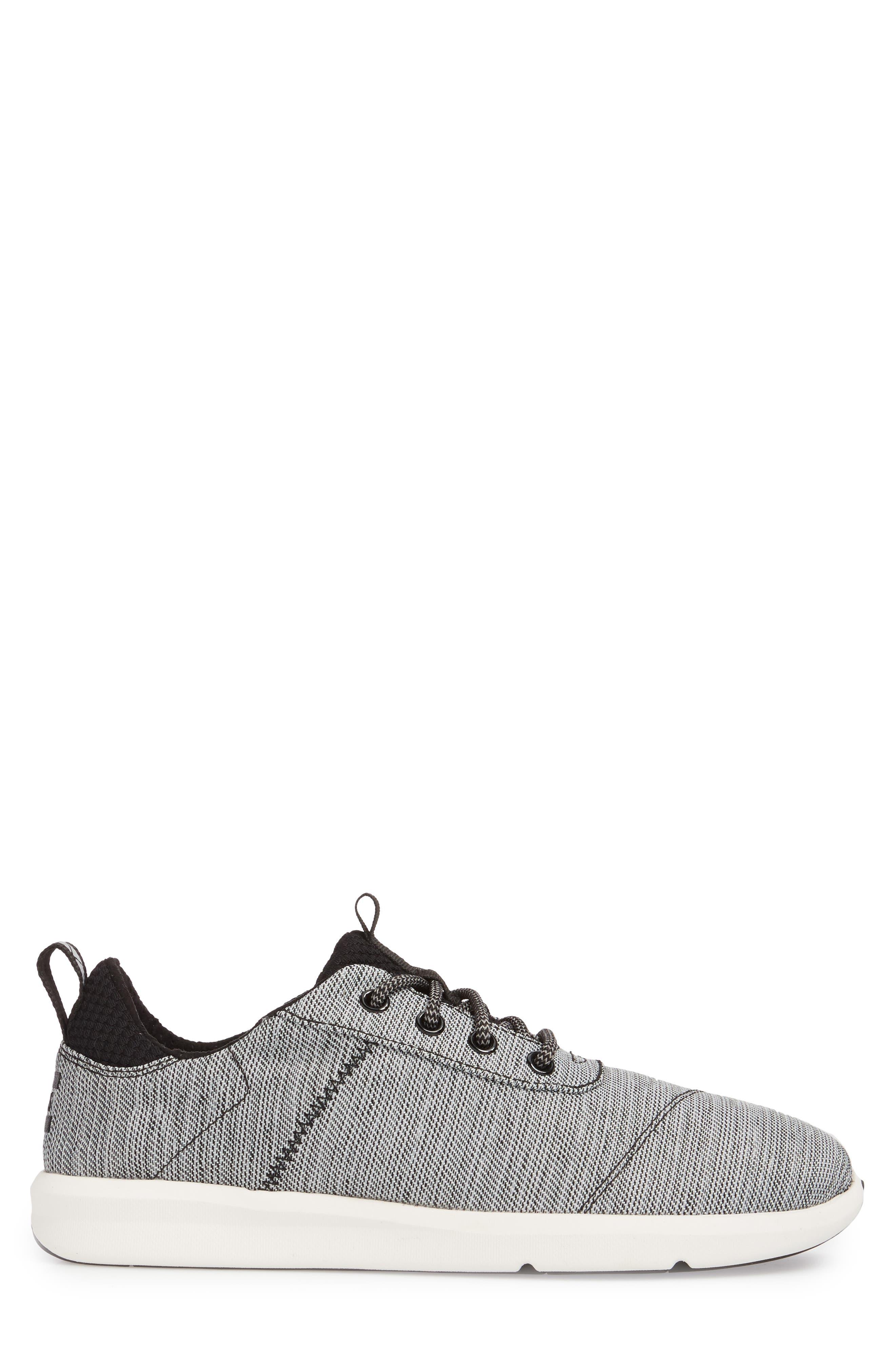 Cabrillo Sneaker,                             Alternate thumbnail 3, color,                             Black Space-Dye