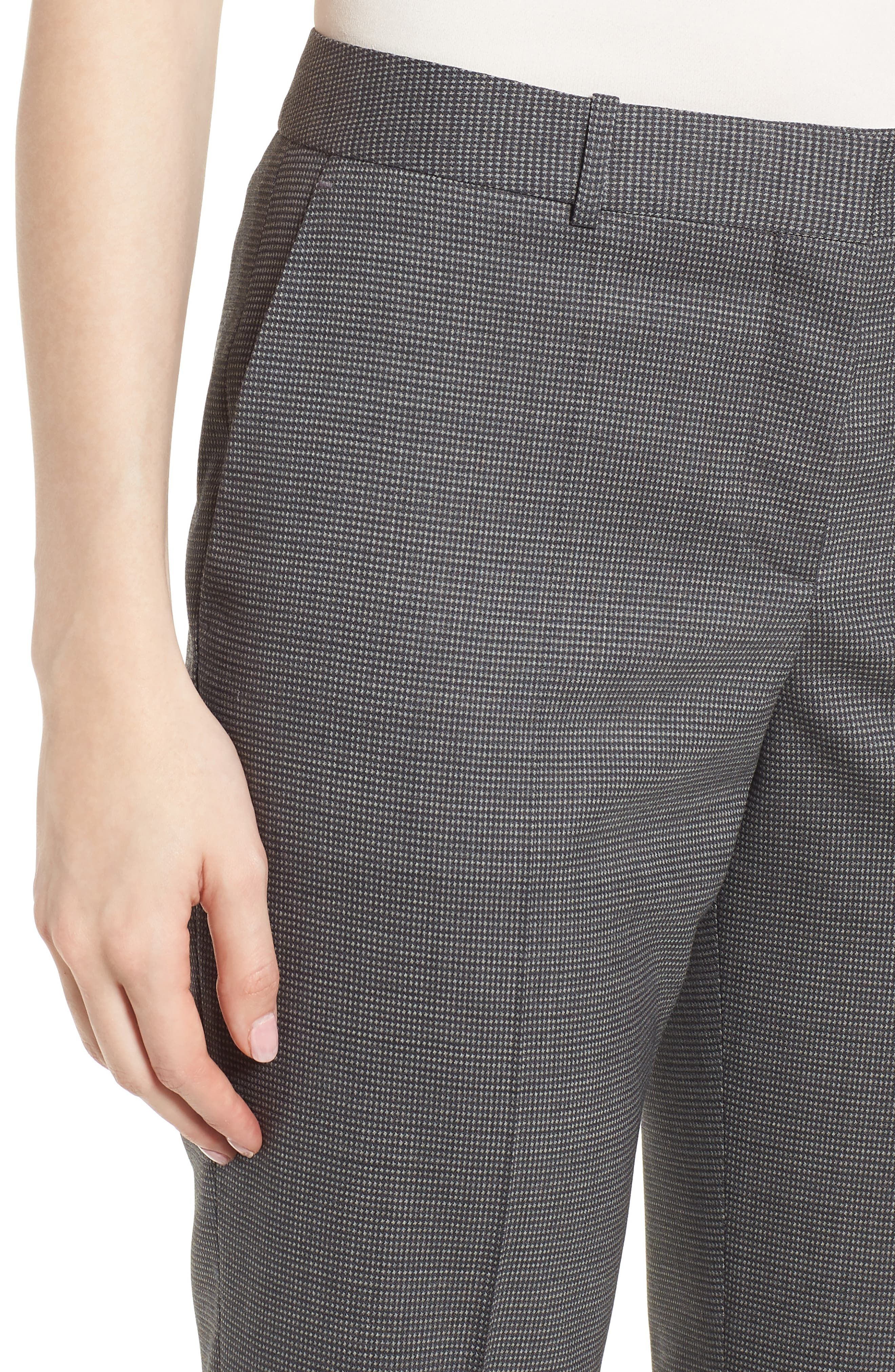 Tamea Minidessin Trousers,                             Alternate thumbnail 4, color,                             Cozy Grey Fantasy