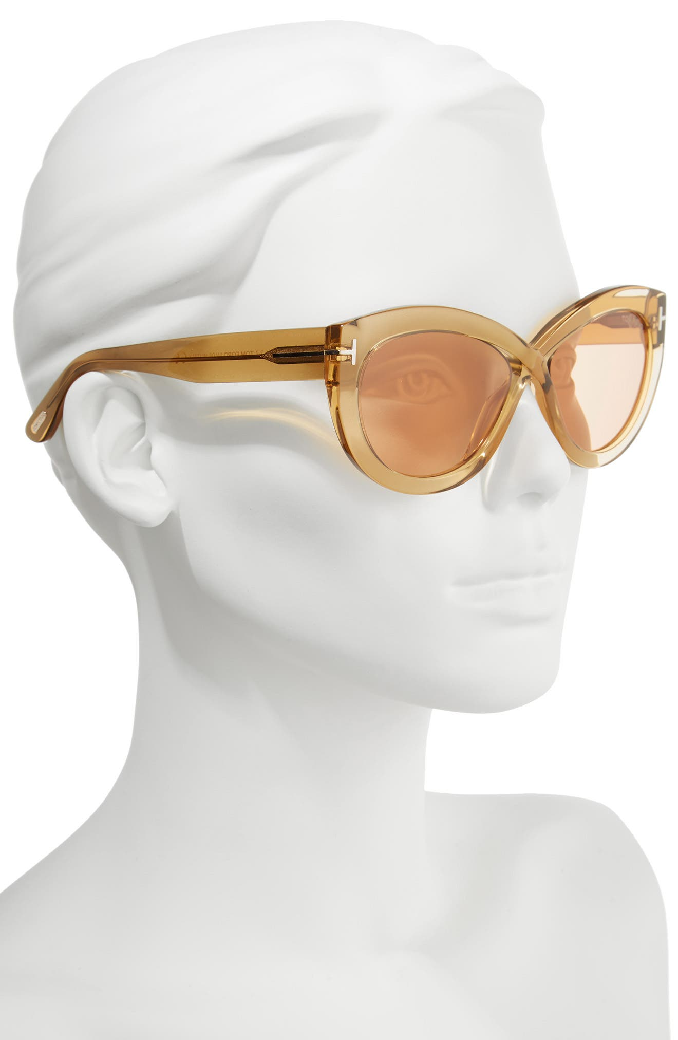 Alternate Image 2  - Tom Ford Diane 56mm Butterfly Sunglasses