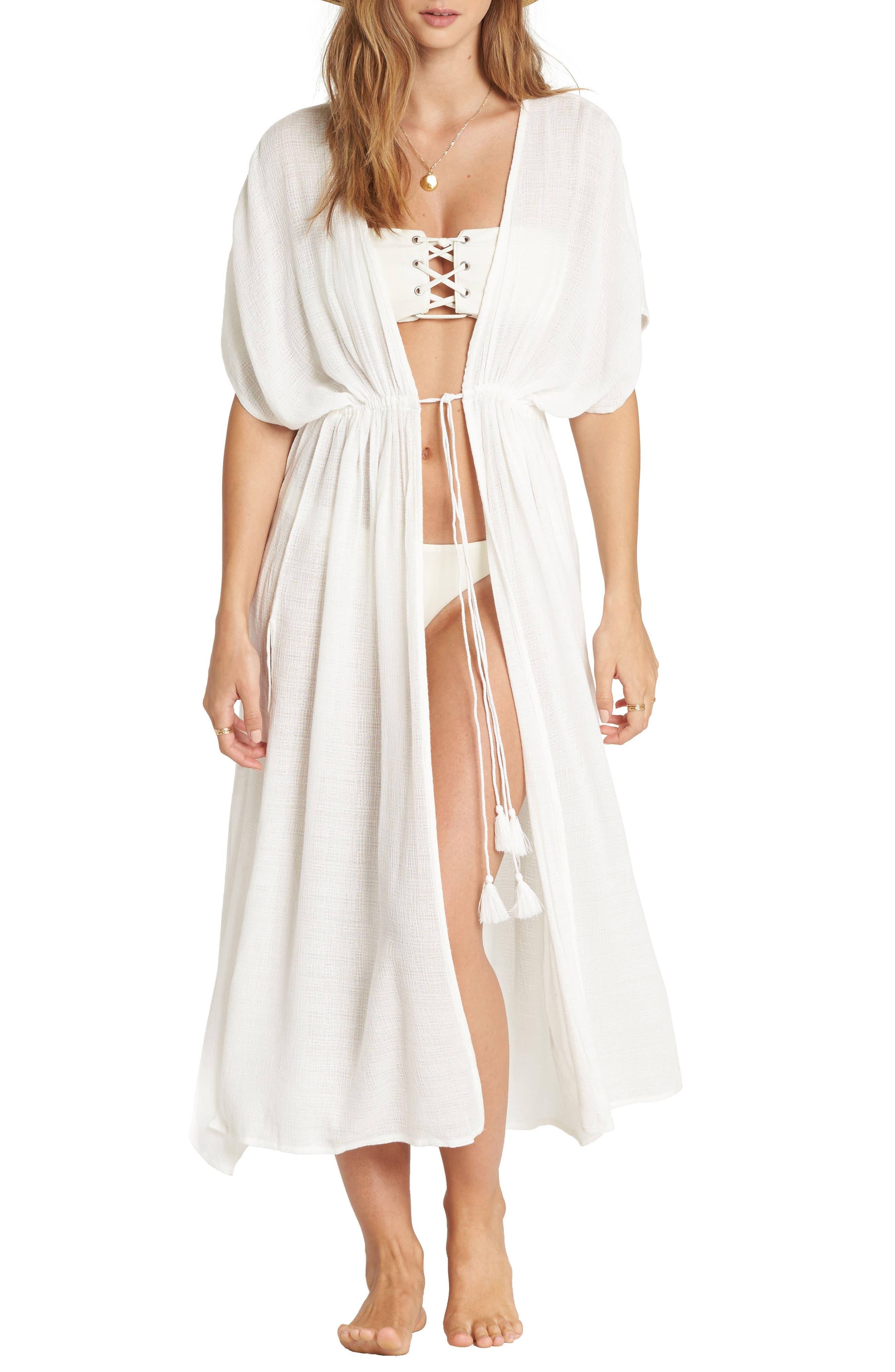 Shape Shift Cover-Up Dress,                             Main thumbnail 1, color,                             Seashell