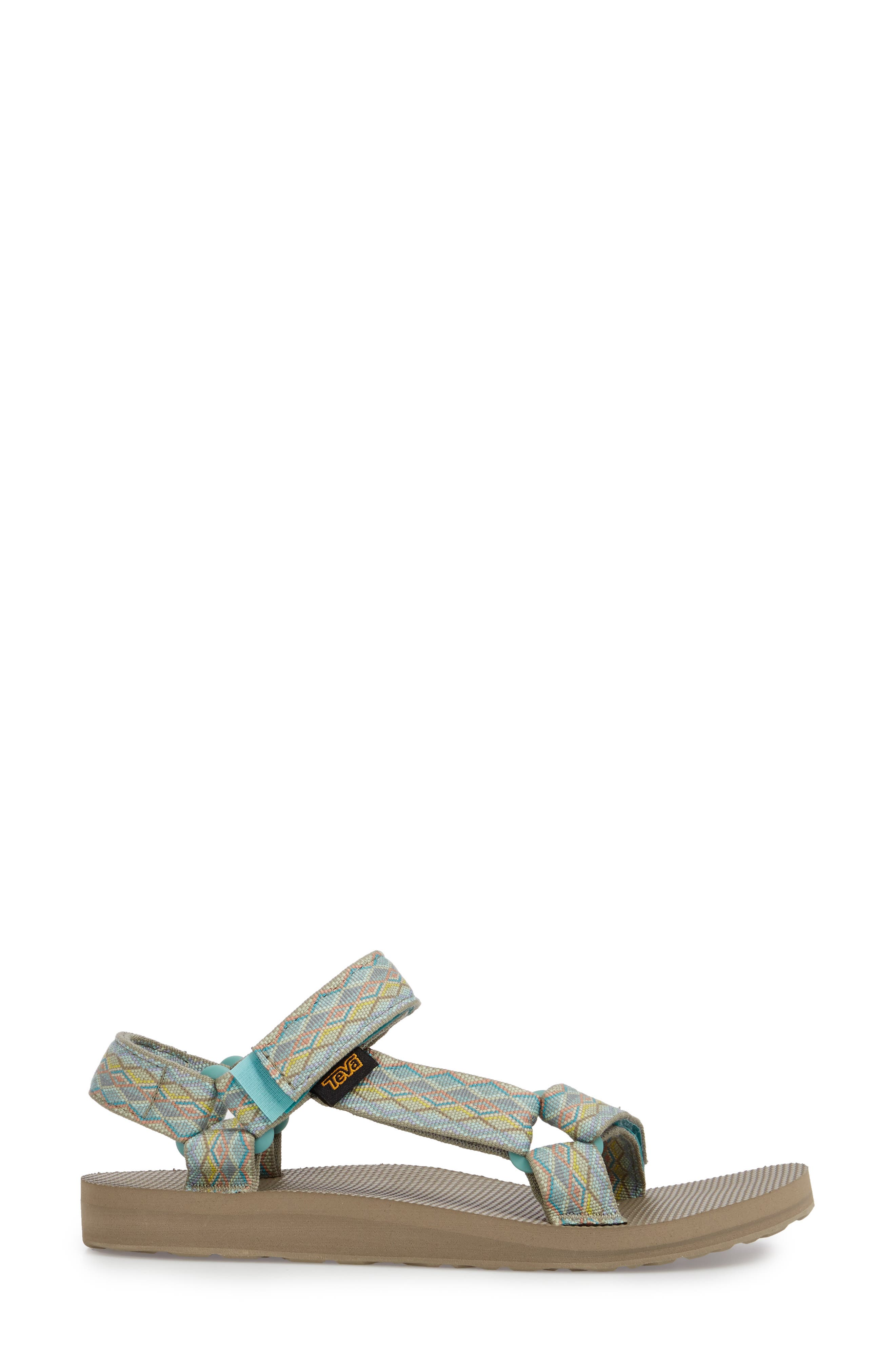 'Original Universal' Sandal,                             Alternate thumbnail 3, color,                             Mirimar Fade Sage Multi