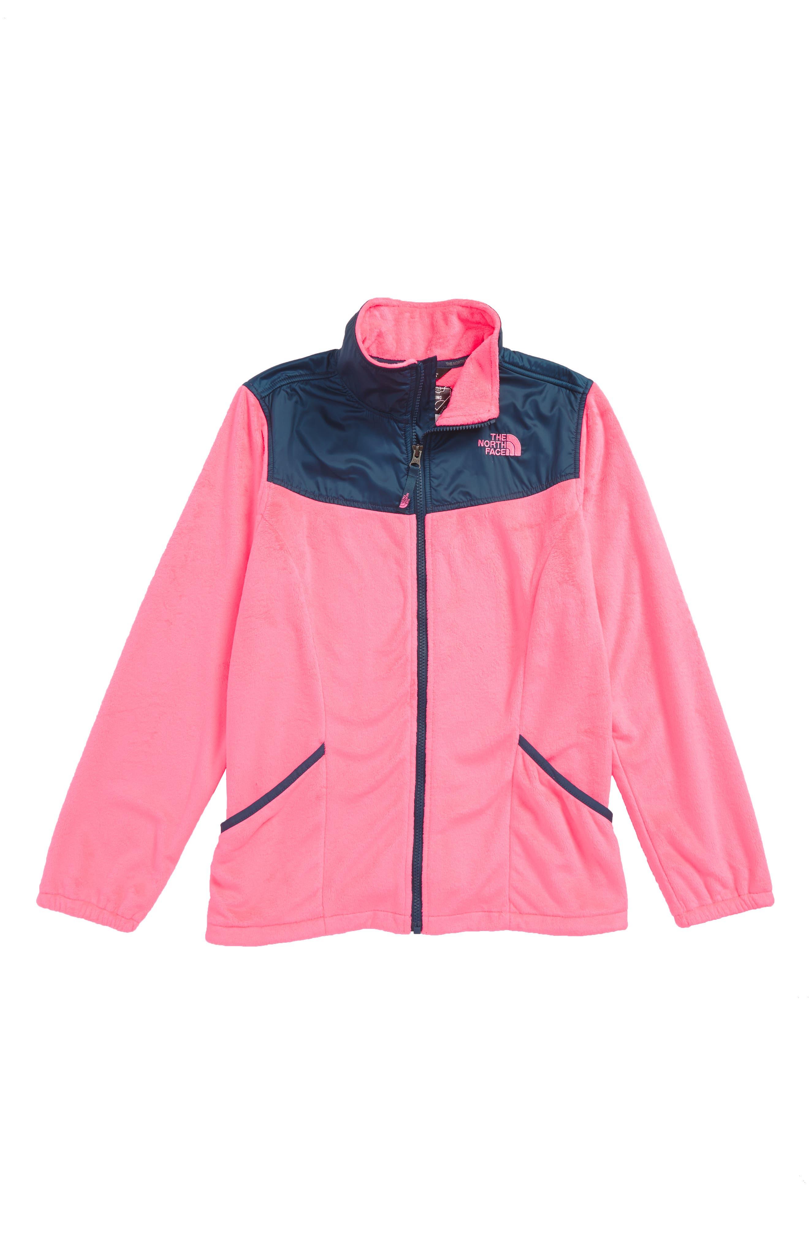 Osolita 2 Fleece Jacket,                             Main thumbnail 1, color,                             Gem Pink