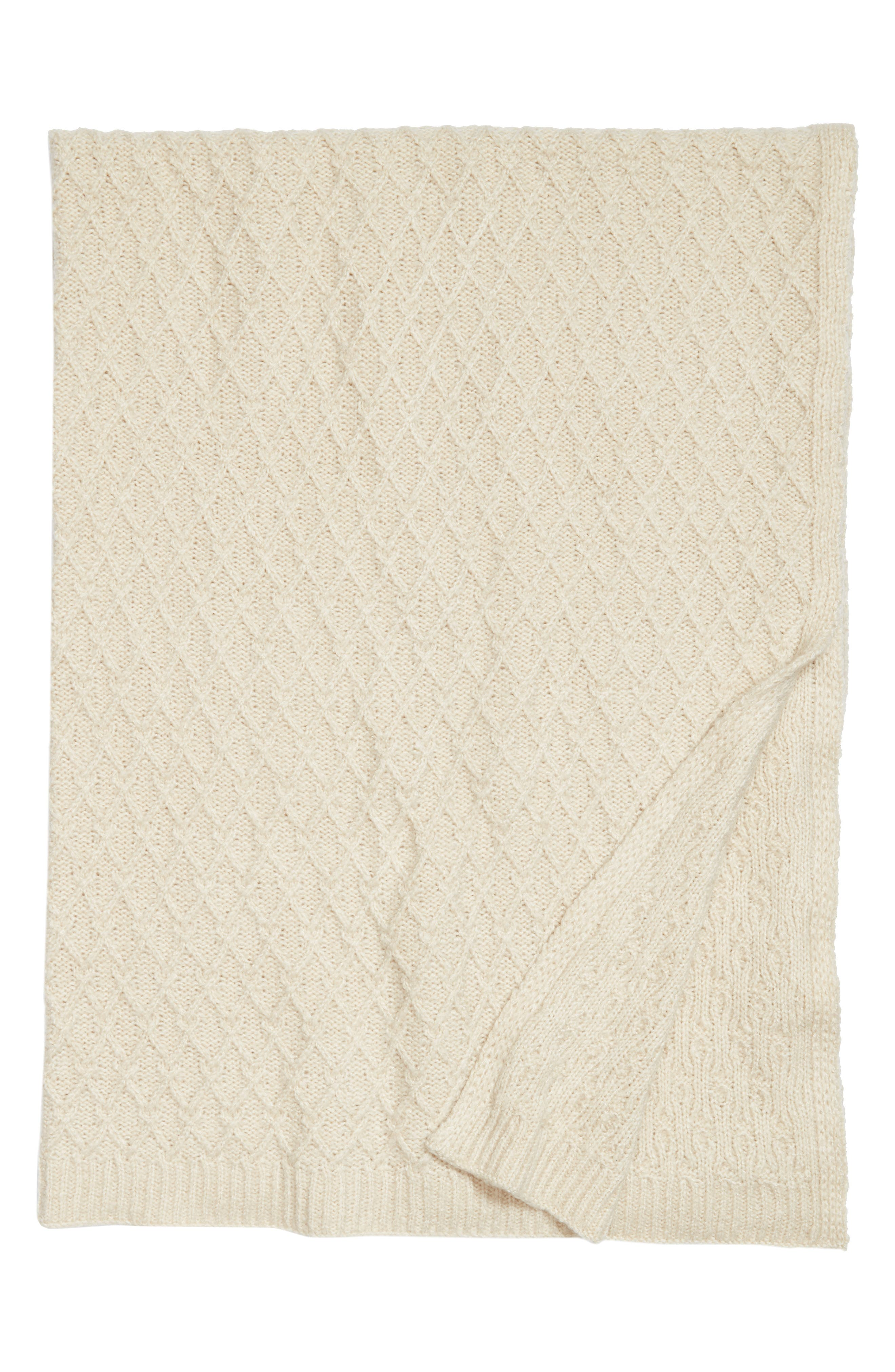 Nordstrom at Home Diamond Knit Throw