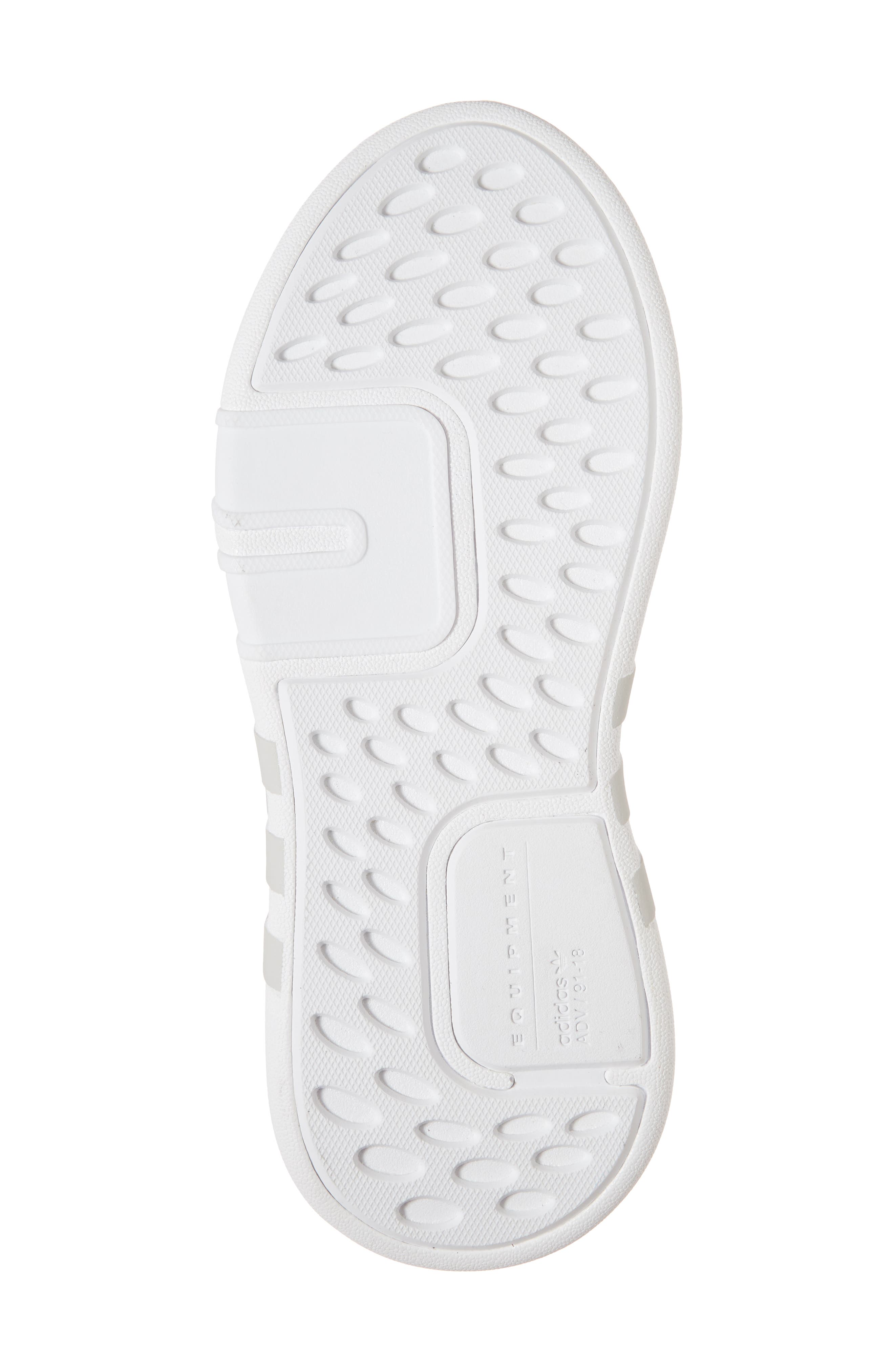 EQT Basketball ADV Sneaker,                             Alternate thumbnail 6, color,                             White/ White/ Ash Blue
