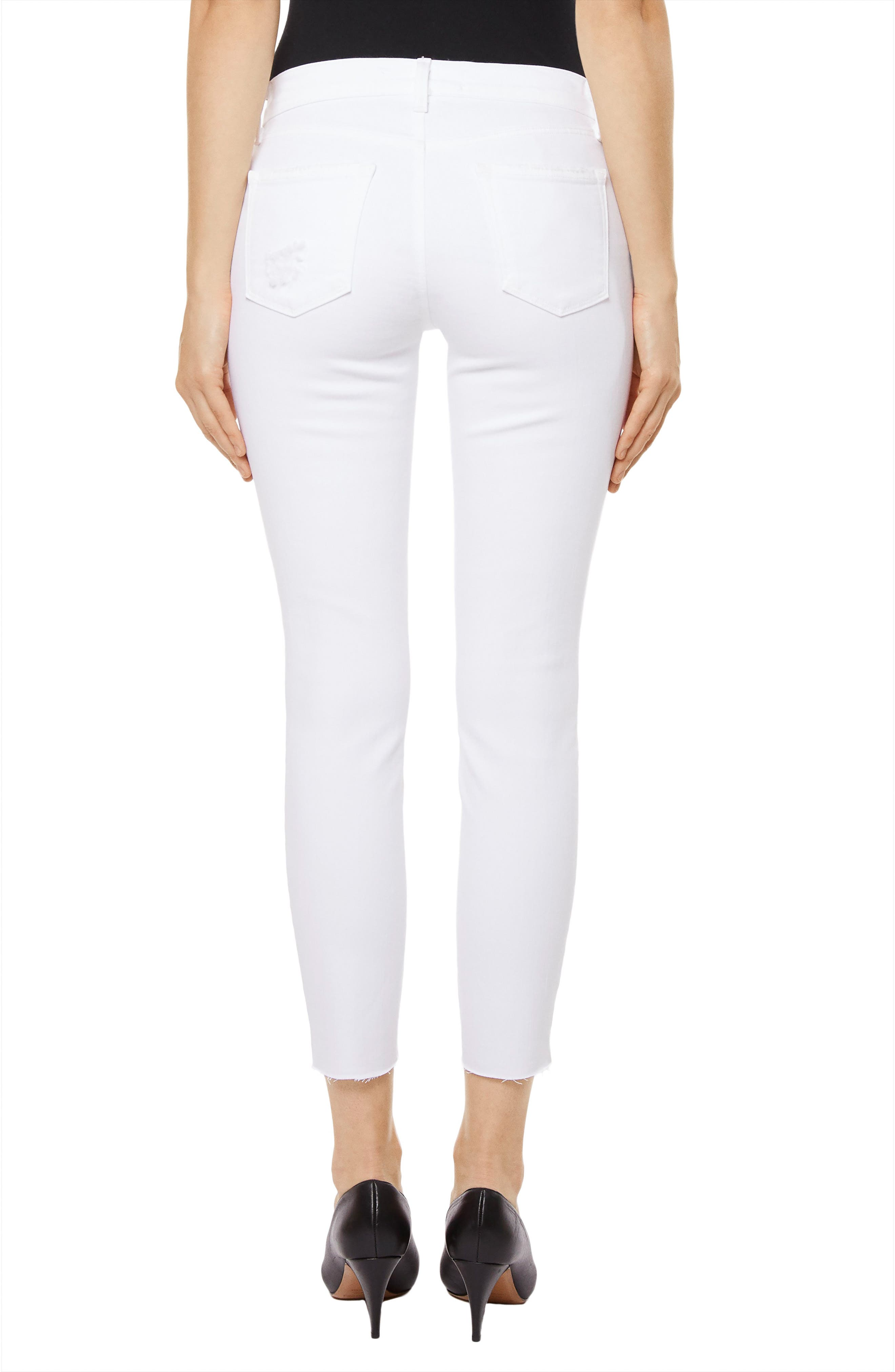 835 Capri Skinny Jeans,                             Alternate thumbnail 2, color,                             Underexposed