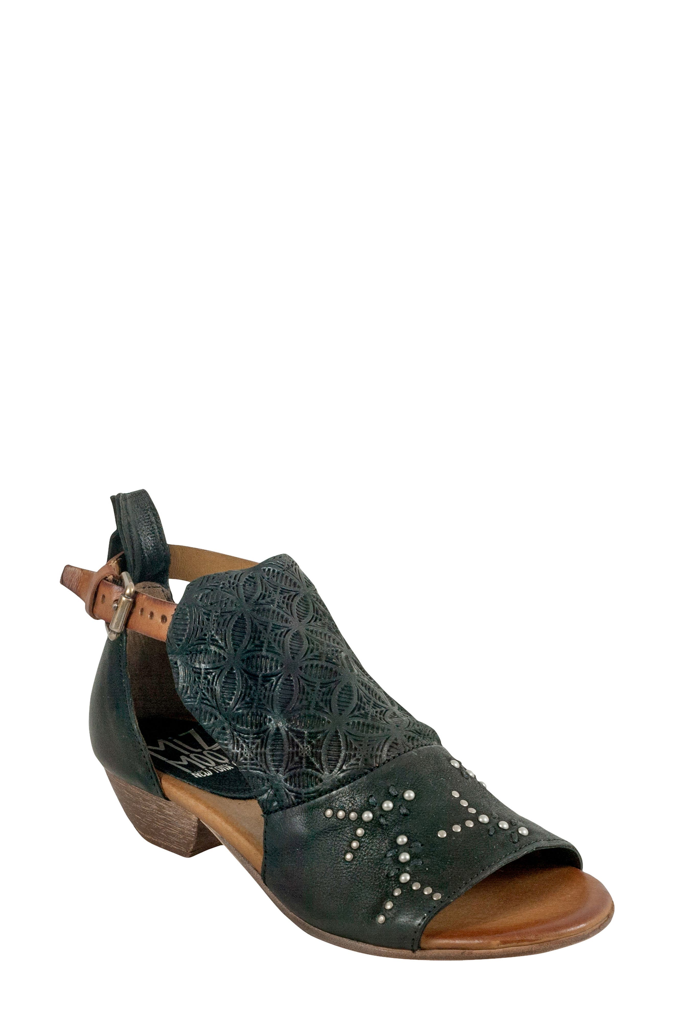 Miz Mooz Carey Embellished Sandal (Women)