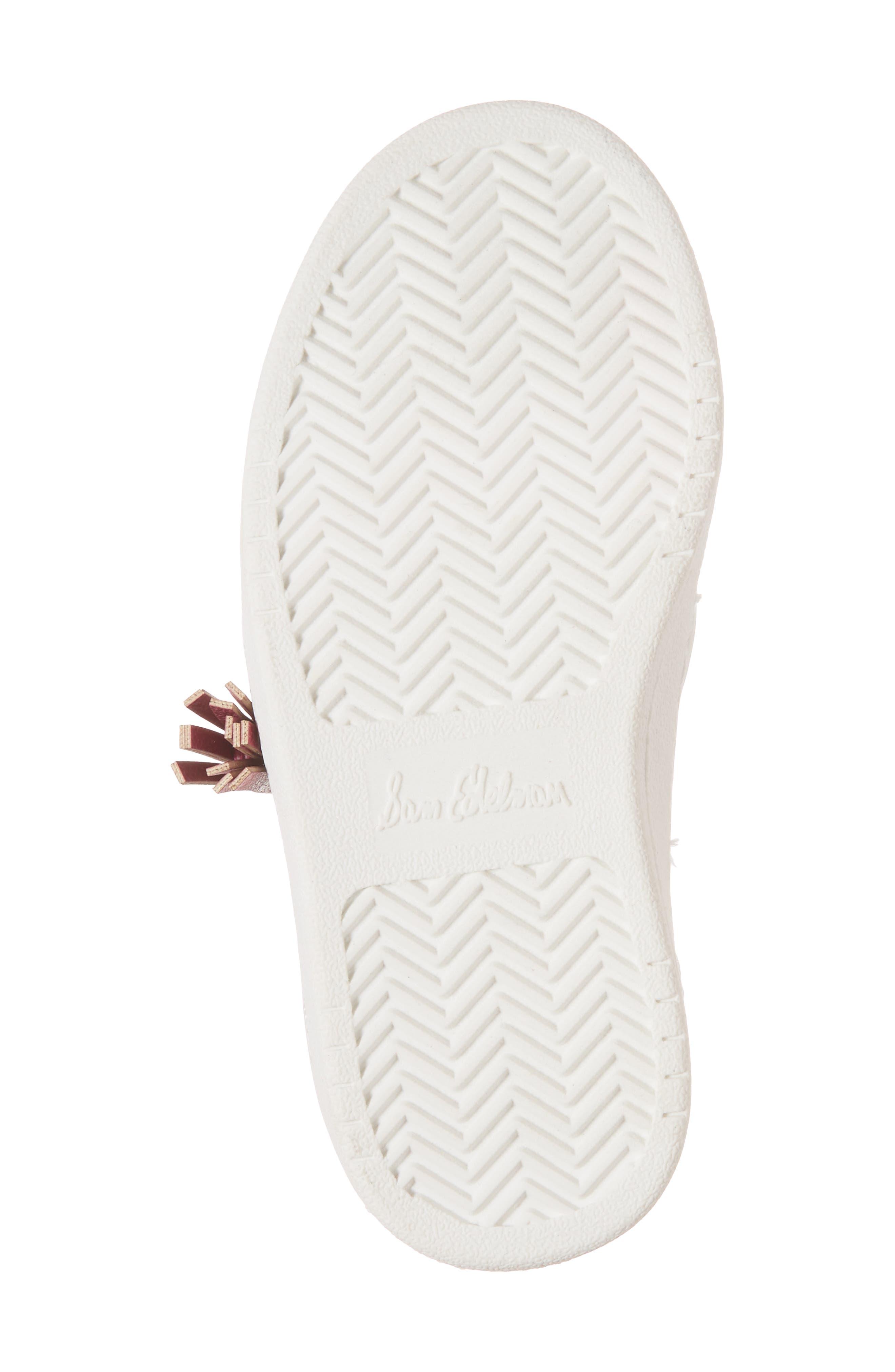 Blane Watermelon Sneaker,                             Alternate thumbnail 6, color,                             Fuchsia Patent Leather