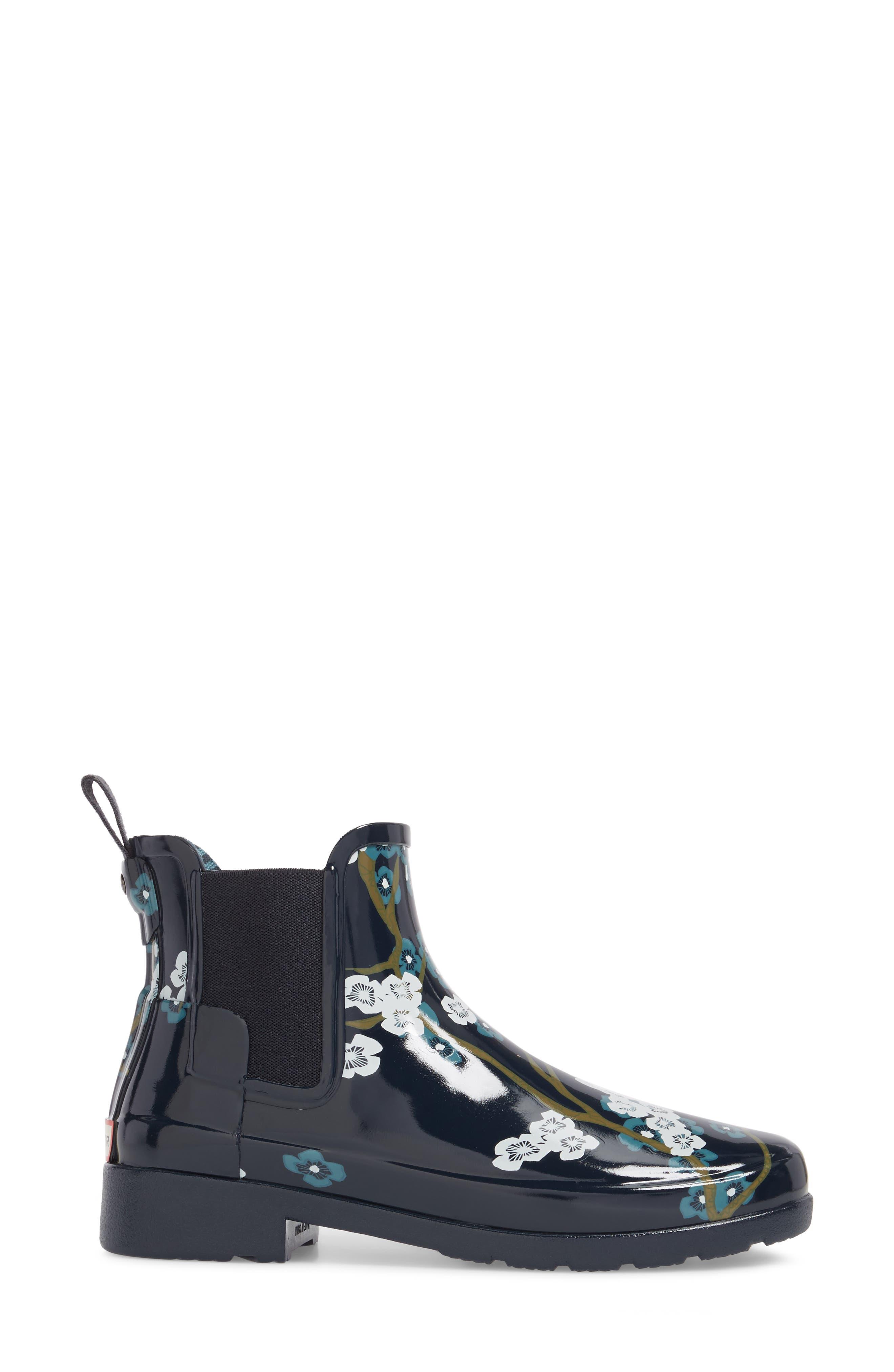 Alternate Image 3  - Hunter 'Original Refined' Chelsea Rain Boot (Women)