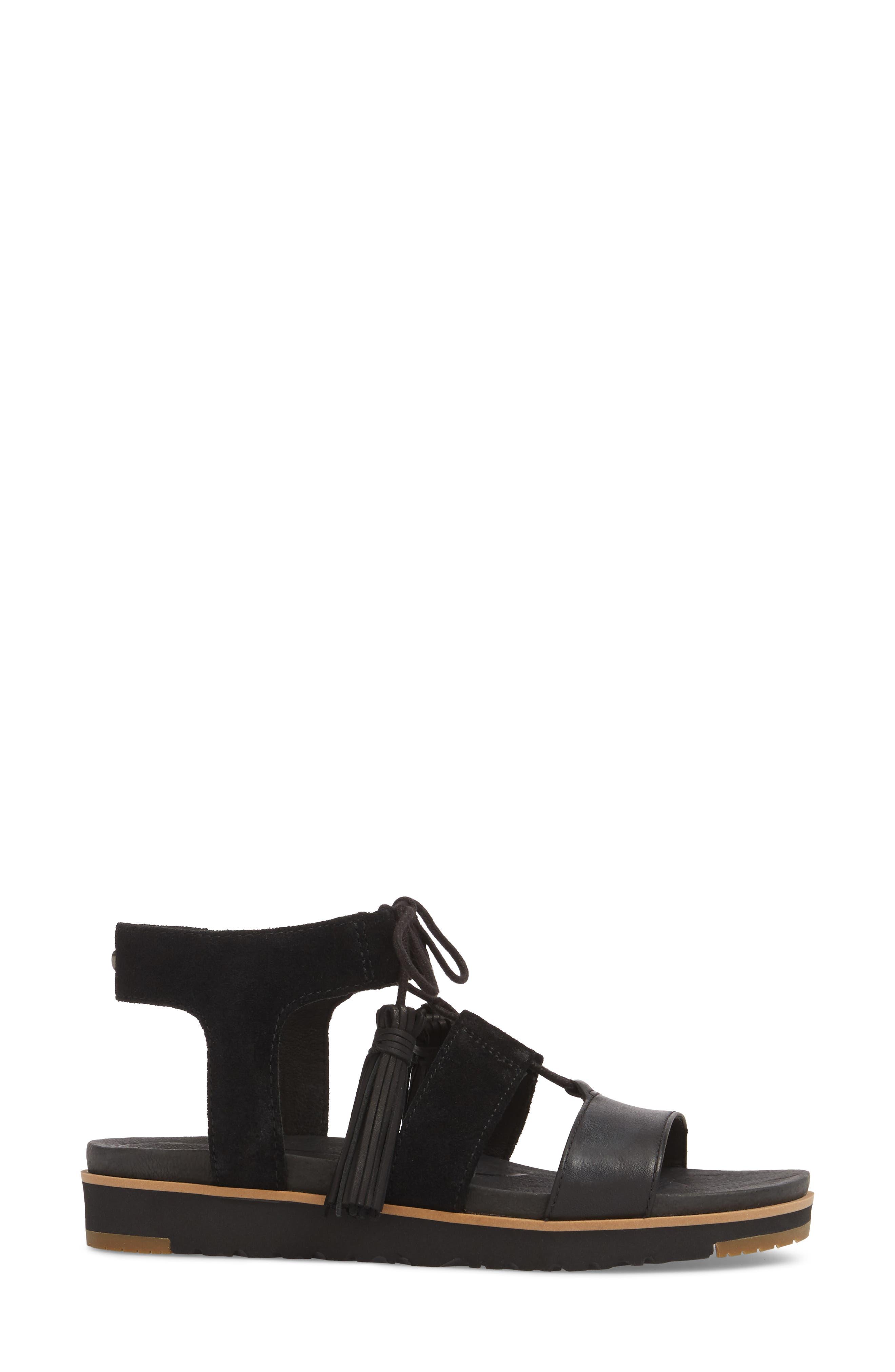 Alternate Image 3  - UGG® Maryssa Tassel Sandal (Women)