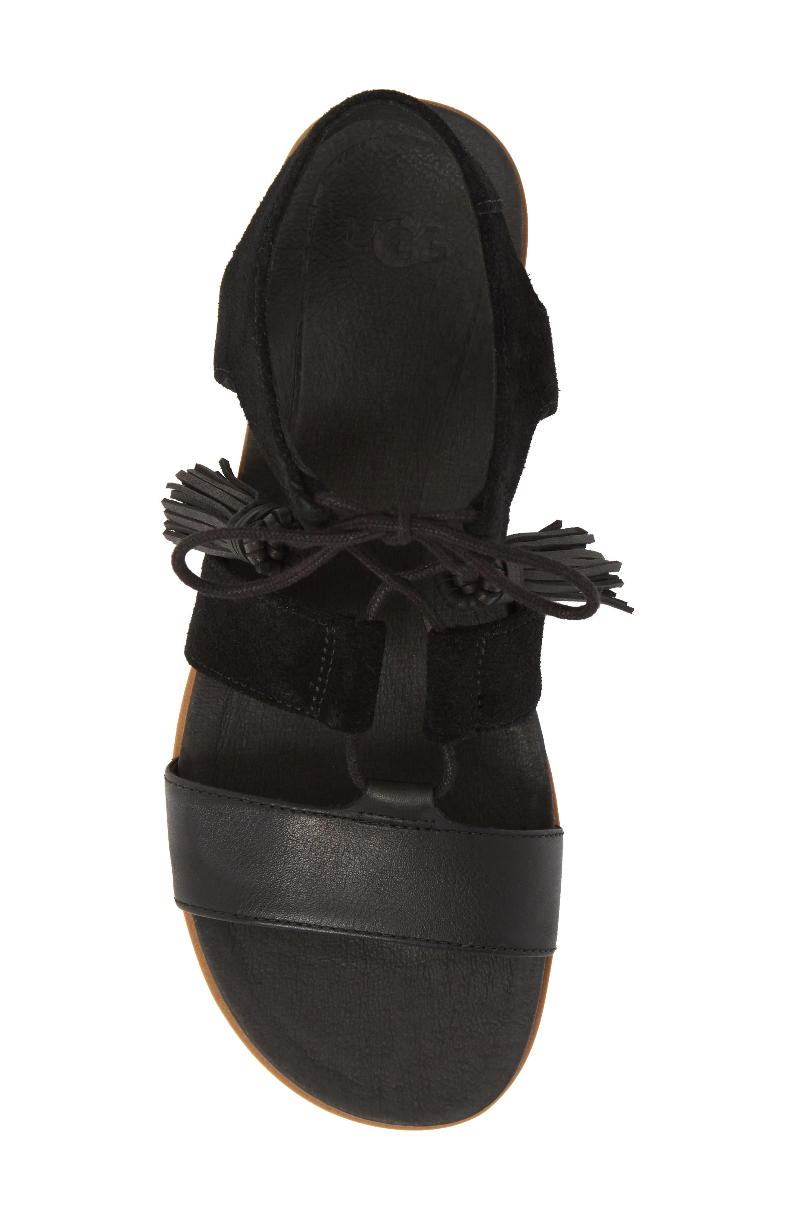 Alternate Image 5  - UGG® Maryssa Tassel Sandal (Women)