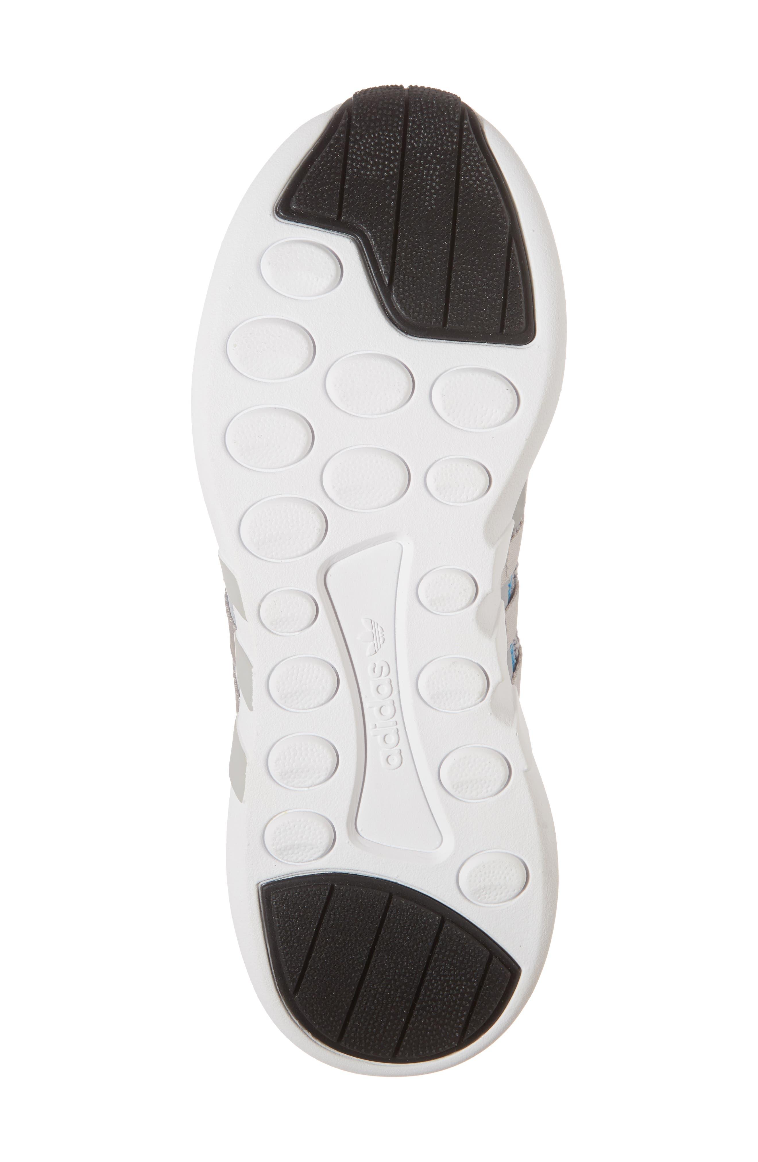 EQT Support Adv Sneaker,                             Alternate thumbnail 6, color,                             Grey/ White