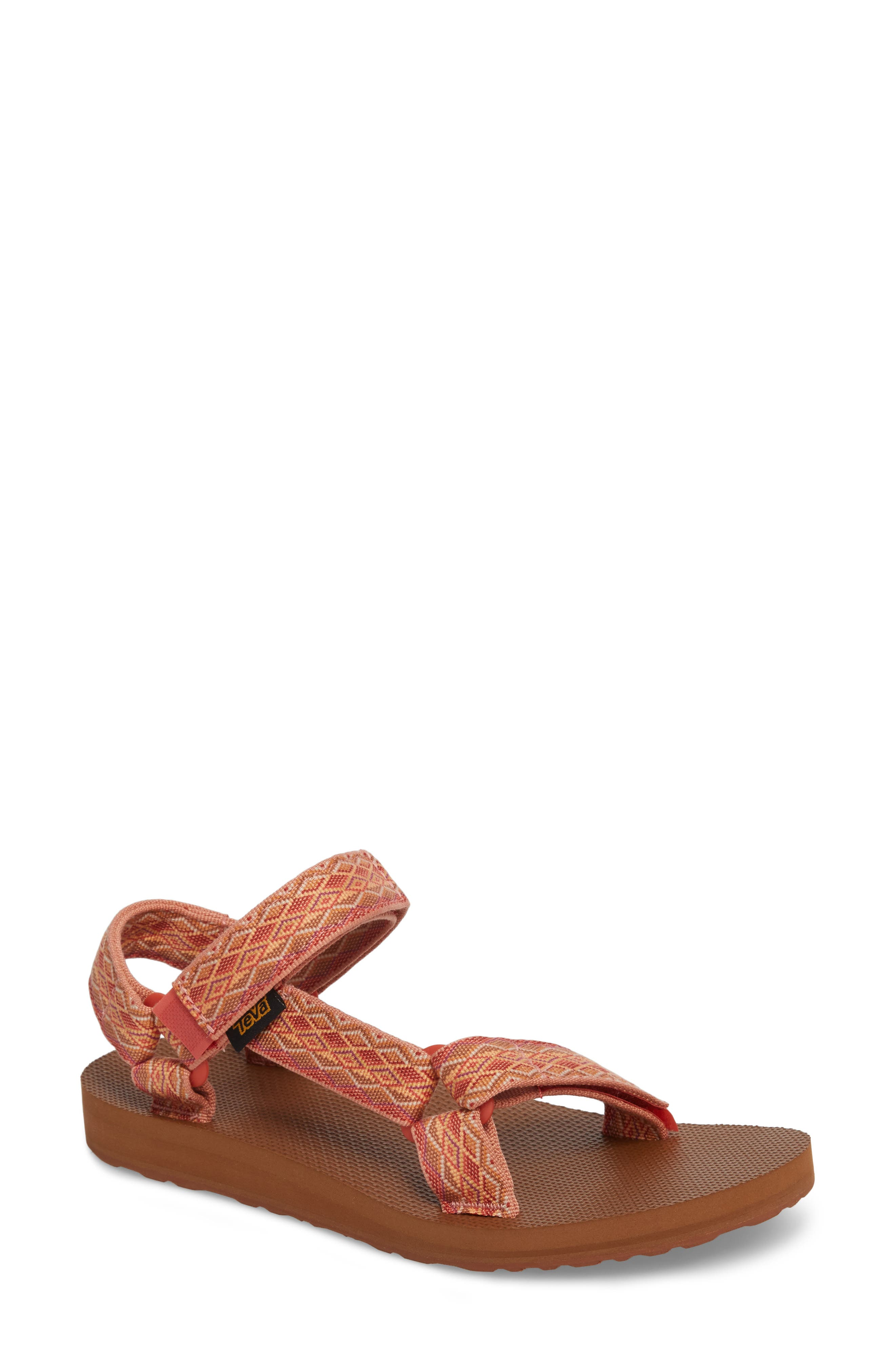 'Original Universal' Sandal,                             Main thumbnail 1, color,                             Mirimar Fade Coral Sand