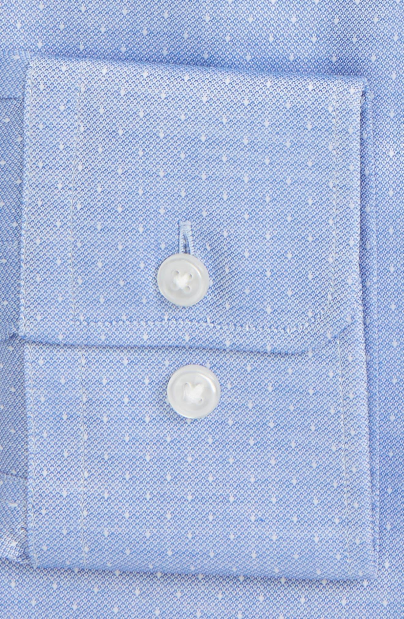 Mark Sharp Fit Dress Shirt,                             Alternate thumbnail 2, color,                             Blue