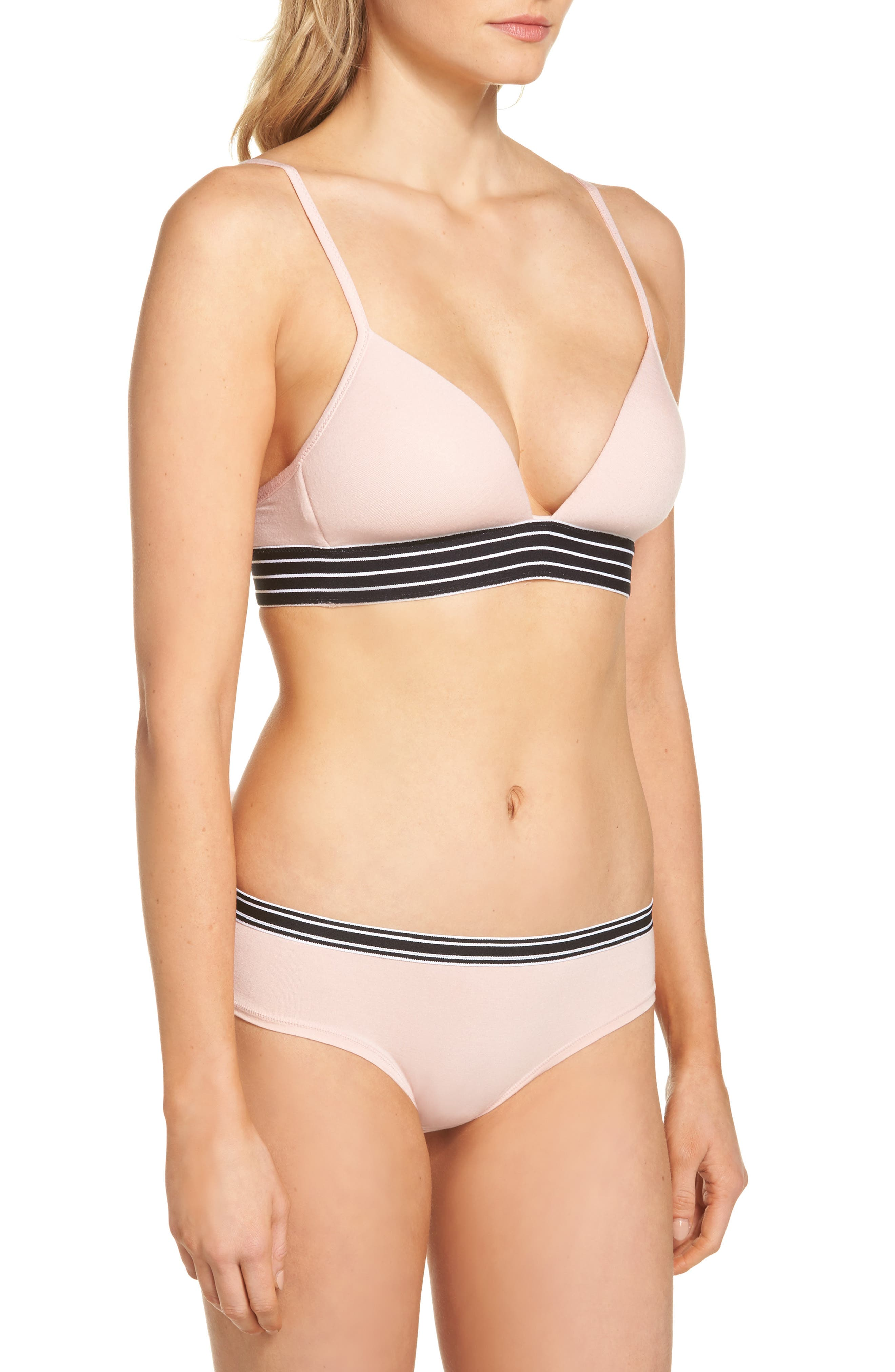 Hipster Briefs,                             Alternate thumbnail 7, color,                             Pink Silver