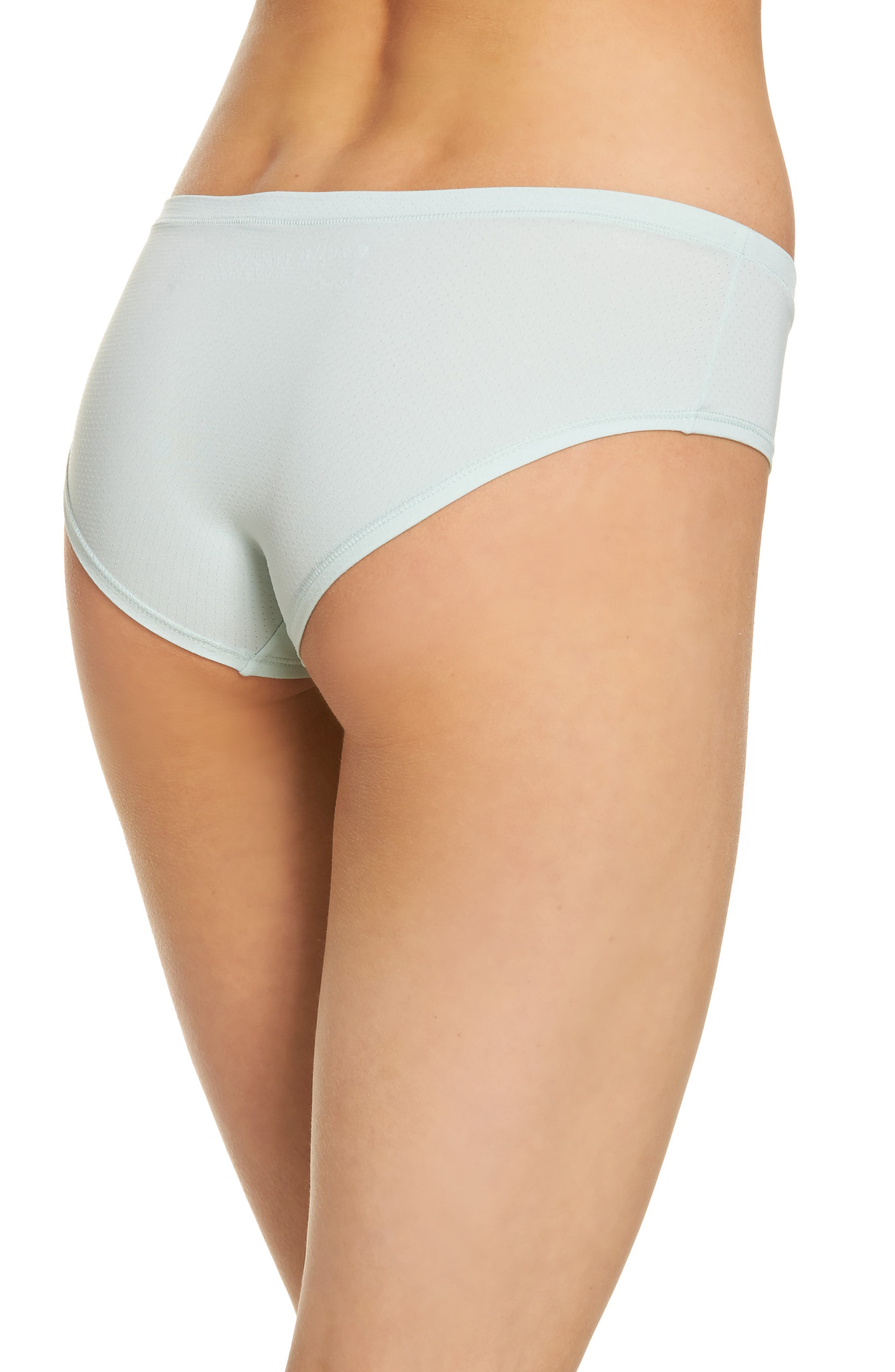 Alternate Image 2  - Zella Body Active Mesh Hipster Briefs (3 for $33)