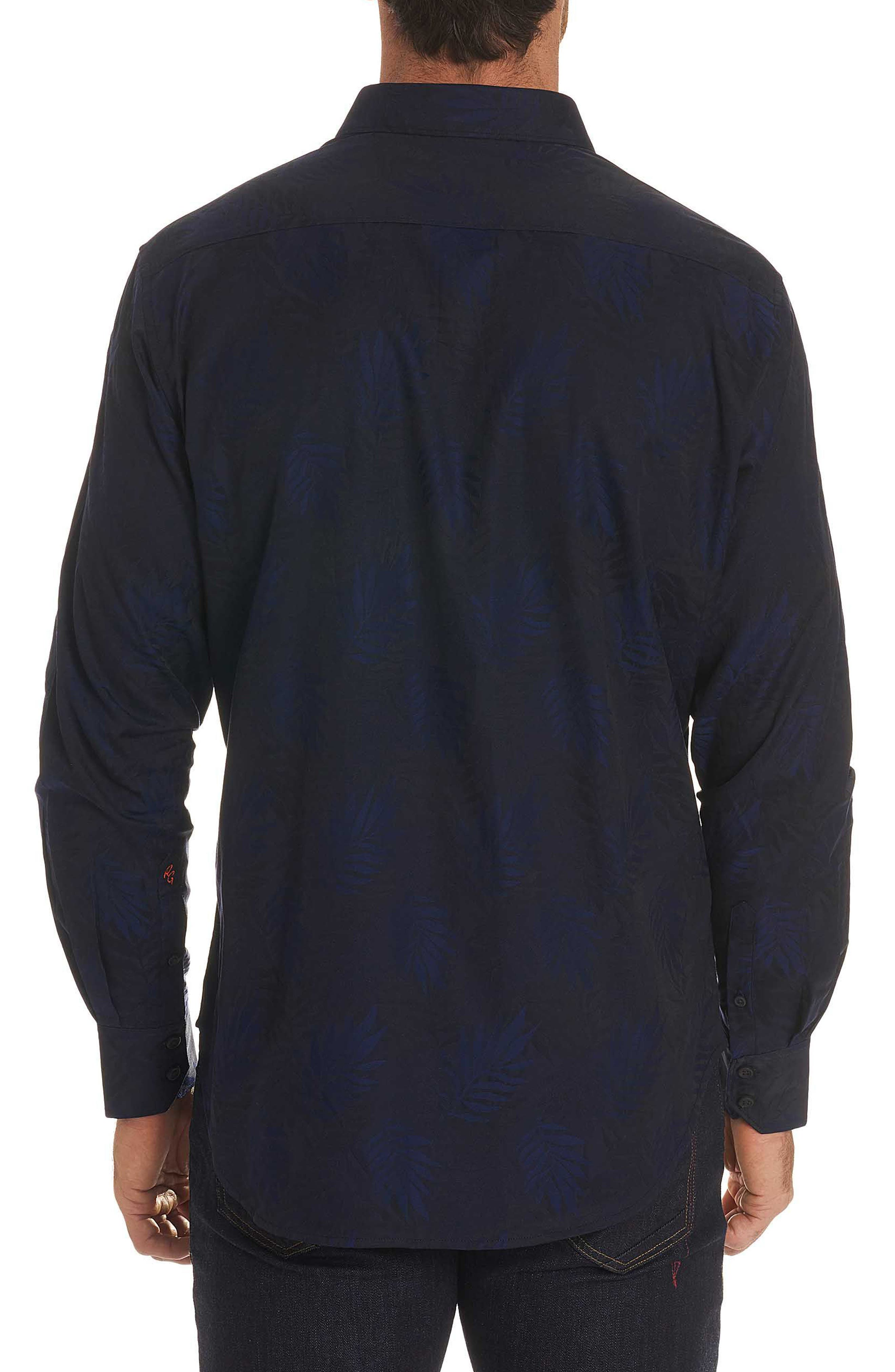 Monte Classic Fit Sport Shirt,                             Alternate thumbnail 2, color,                             Midnight Navy
