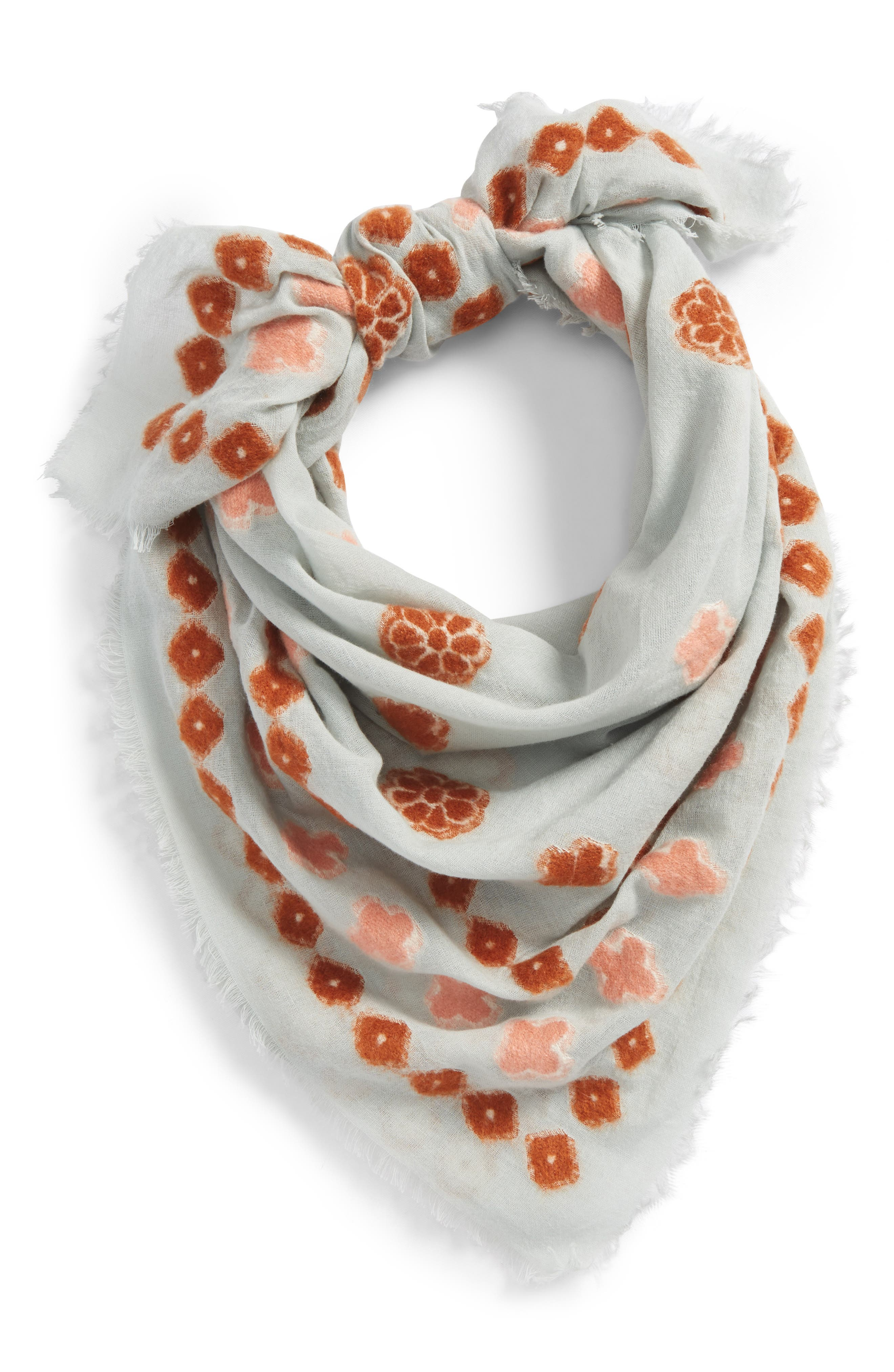 Madwell Clover Grid Square Scarf