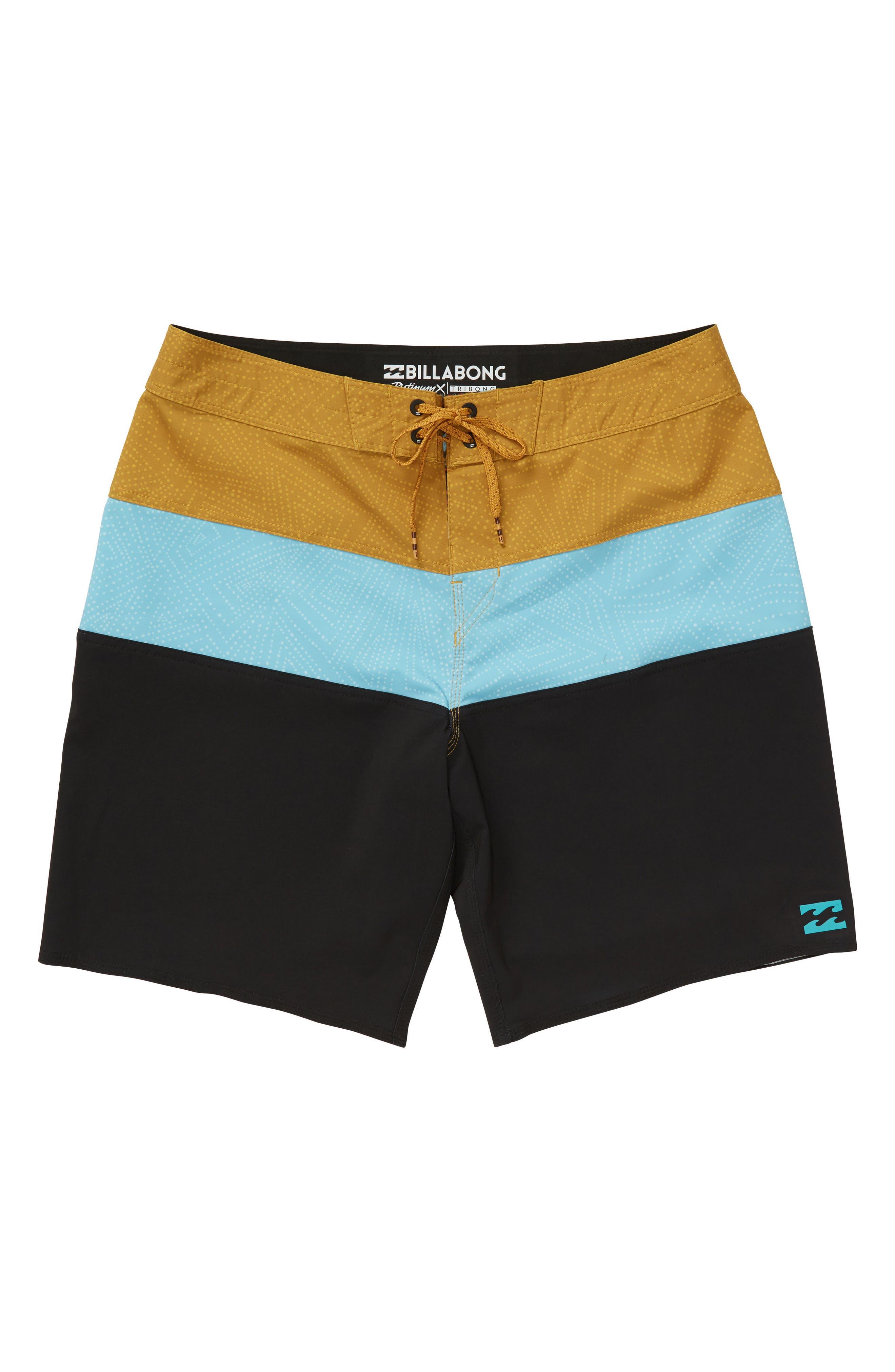 Tribong X Board Shorts,                             Main thumbnail 1, color,                             Aqua