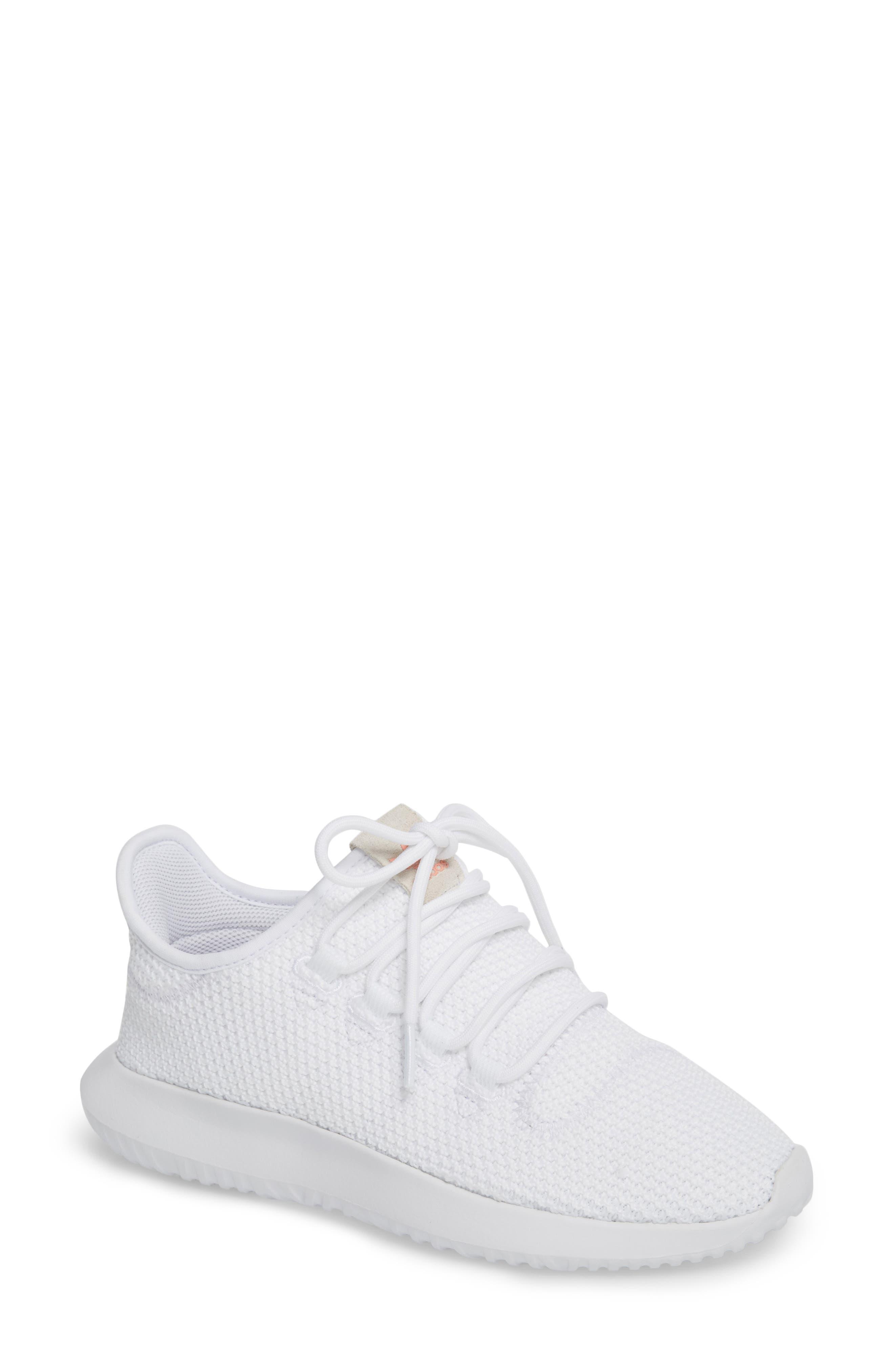 Tubular Shadow Sneaker,                             Main thumbnail 1, color,                             White/ White/ Core Black