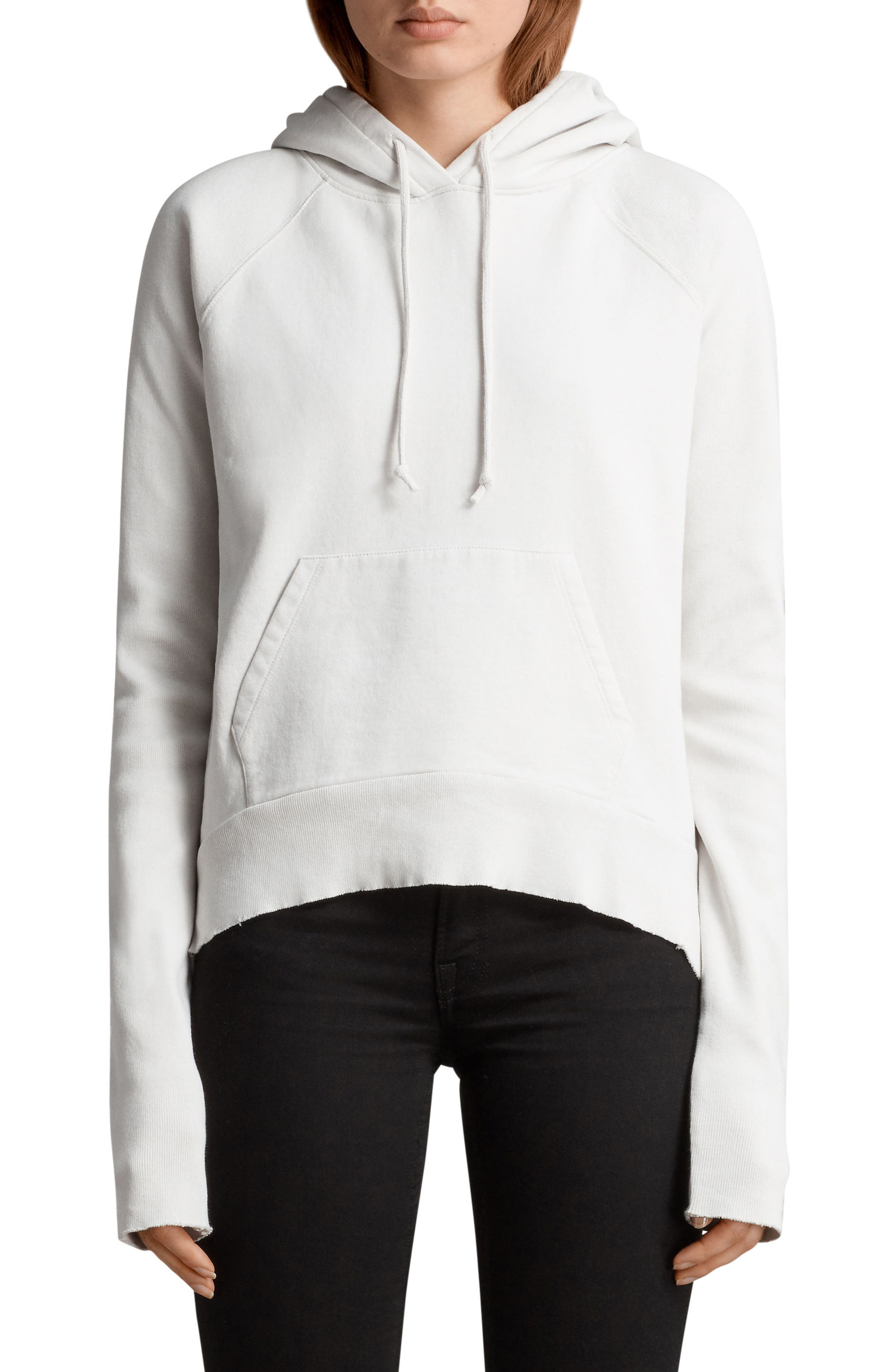 Ivy Hoodie,                         Main,                         color, Ivory White