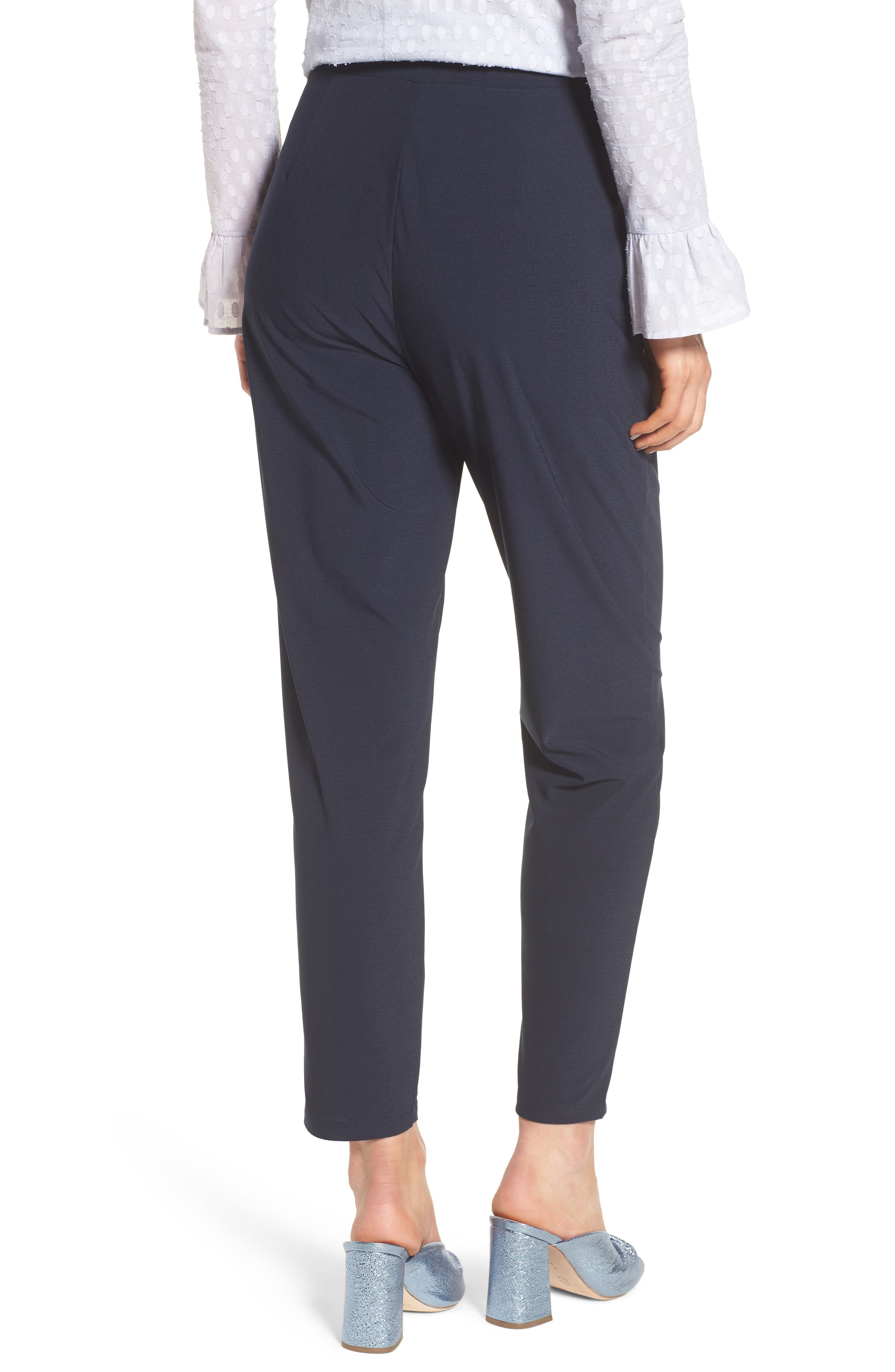 Alternate Image 2  - Leith Pleat Front Trousers