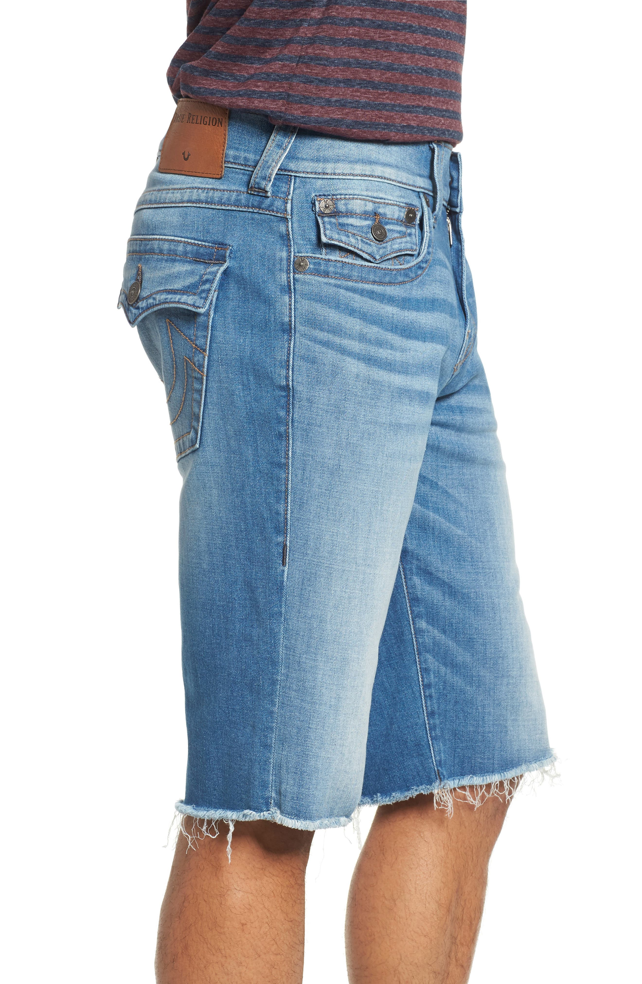 Alternate Image 3  - True Religion Brand Jeans Ricky Flap Pocket Shorts