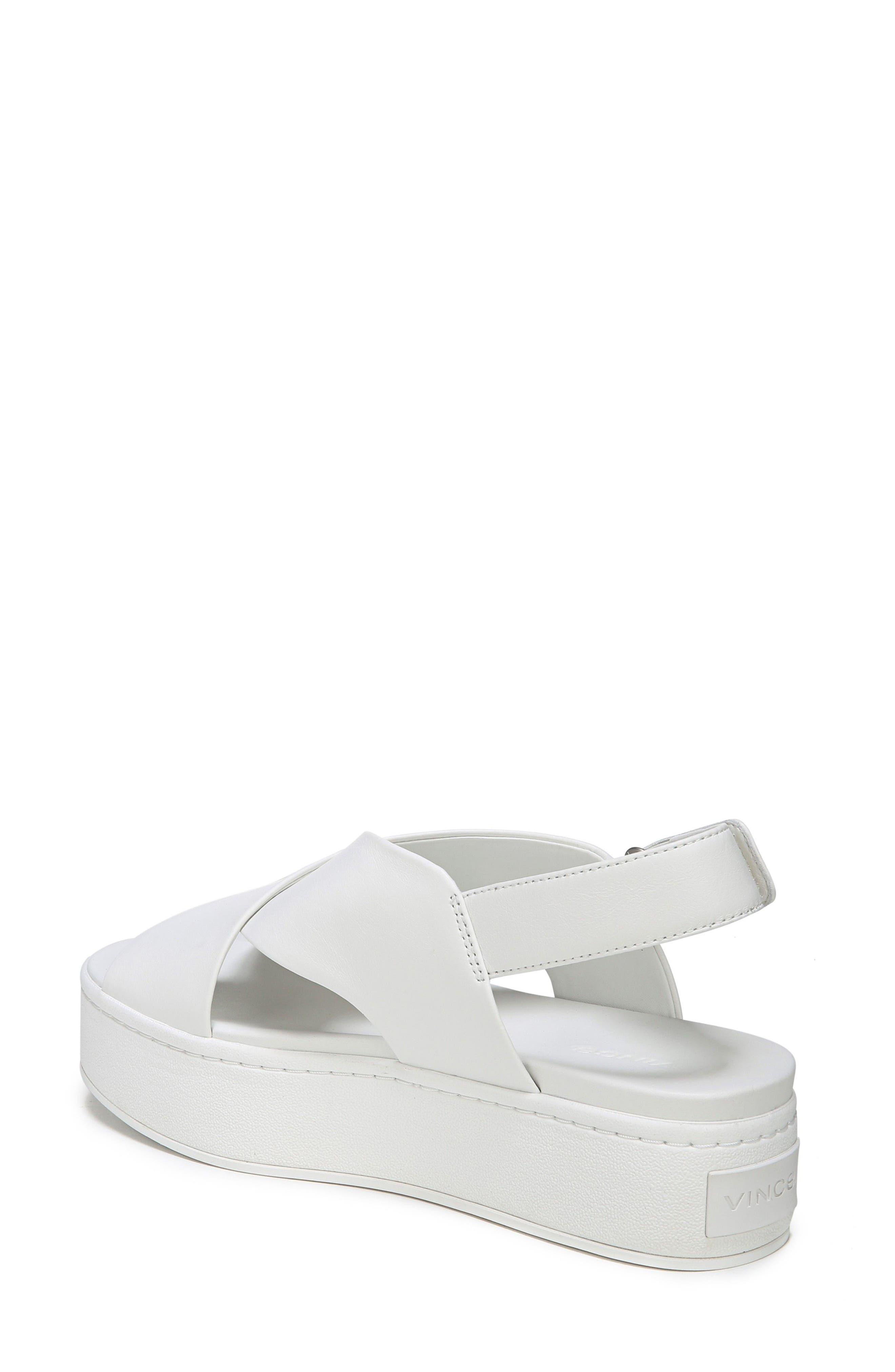 Weslan Cross Strap Slingback Sandal,                             Alternate thumbnail 2, color,                             Horchata