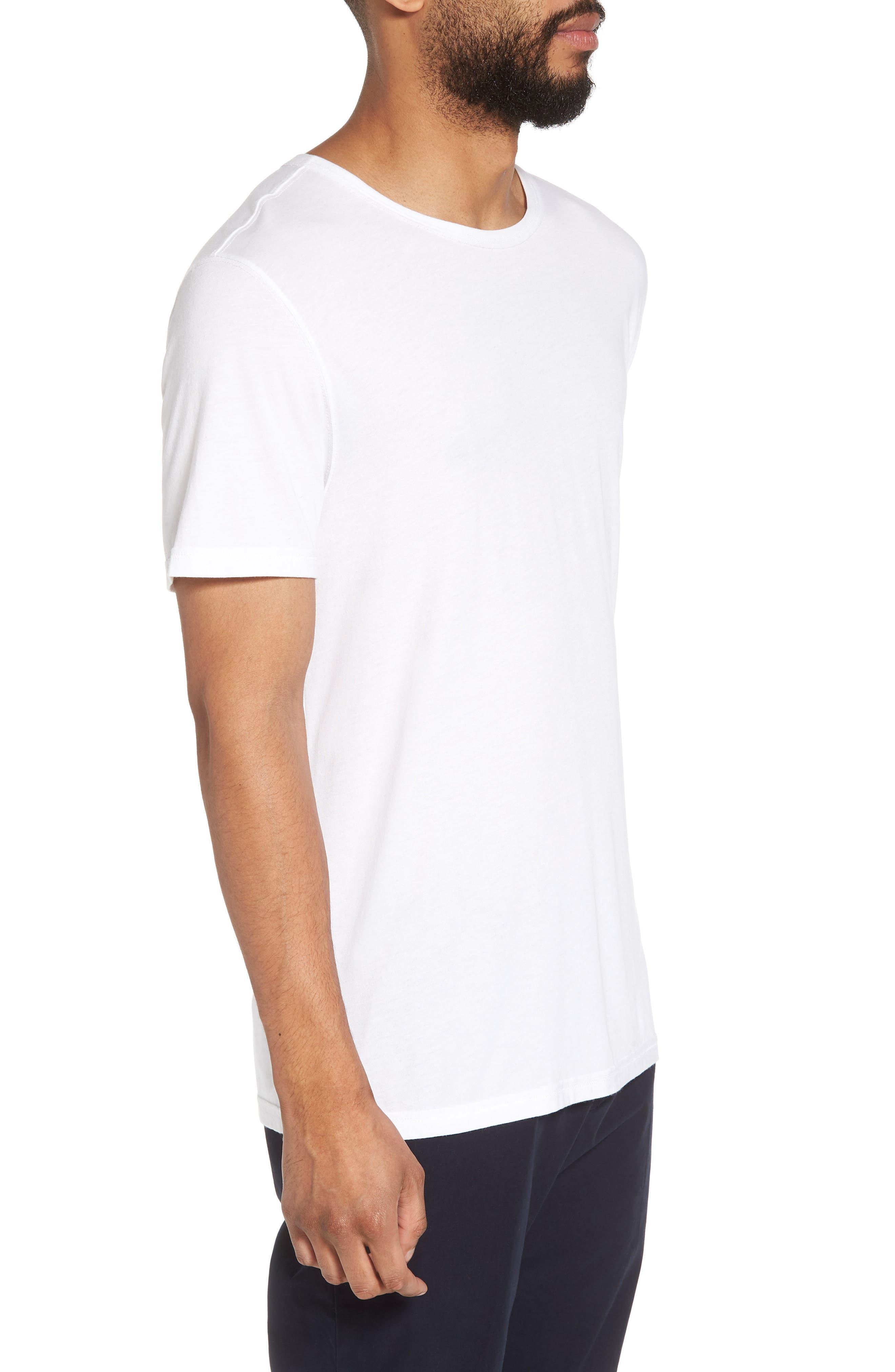 Alternate Image 3  - Vince Reverse Hem Slim Fit T-Shirt