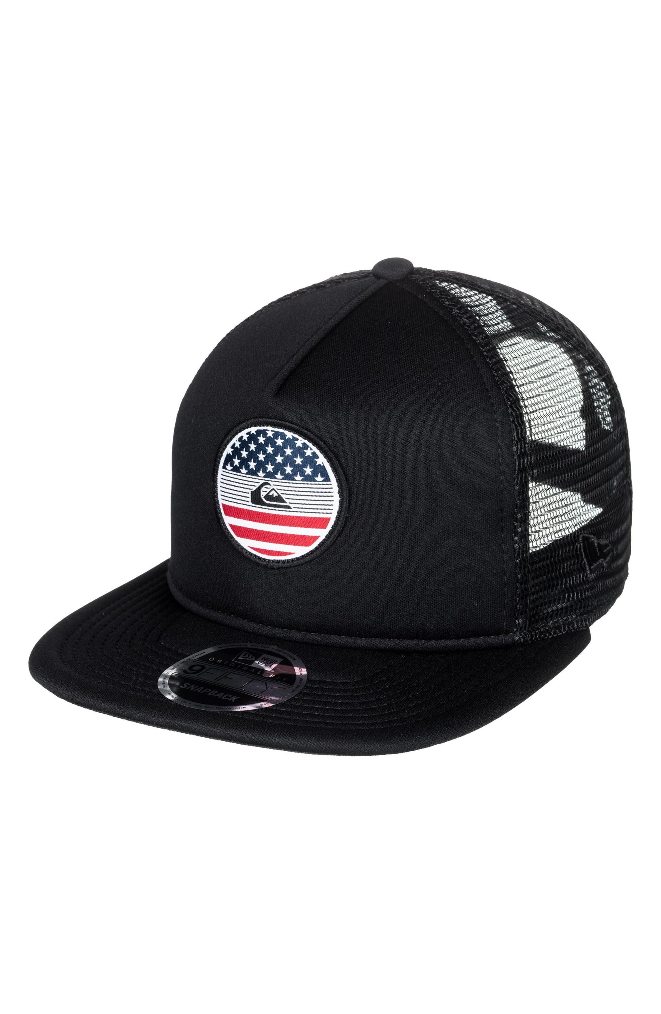 Quiksilver Flag Trucker Hat