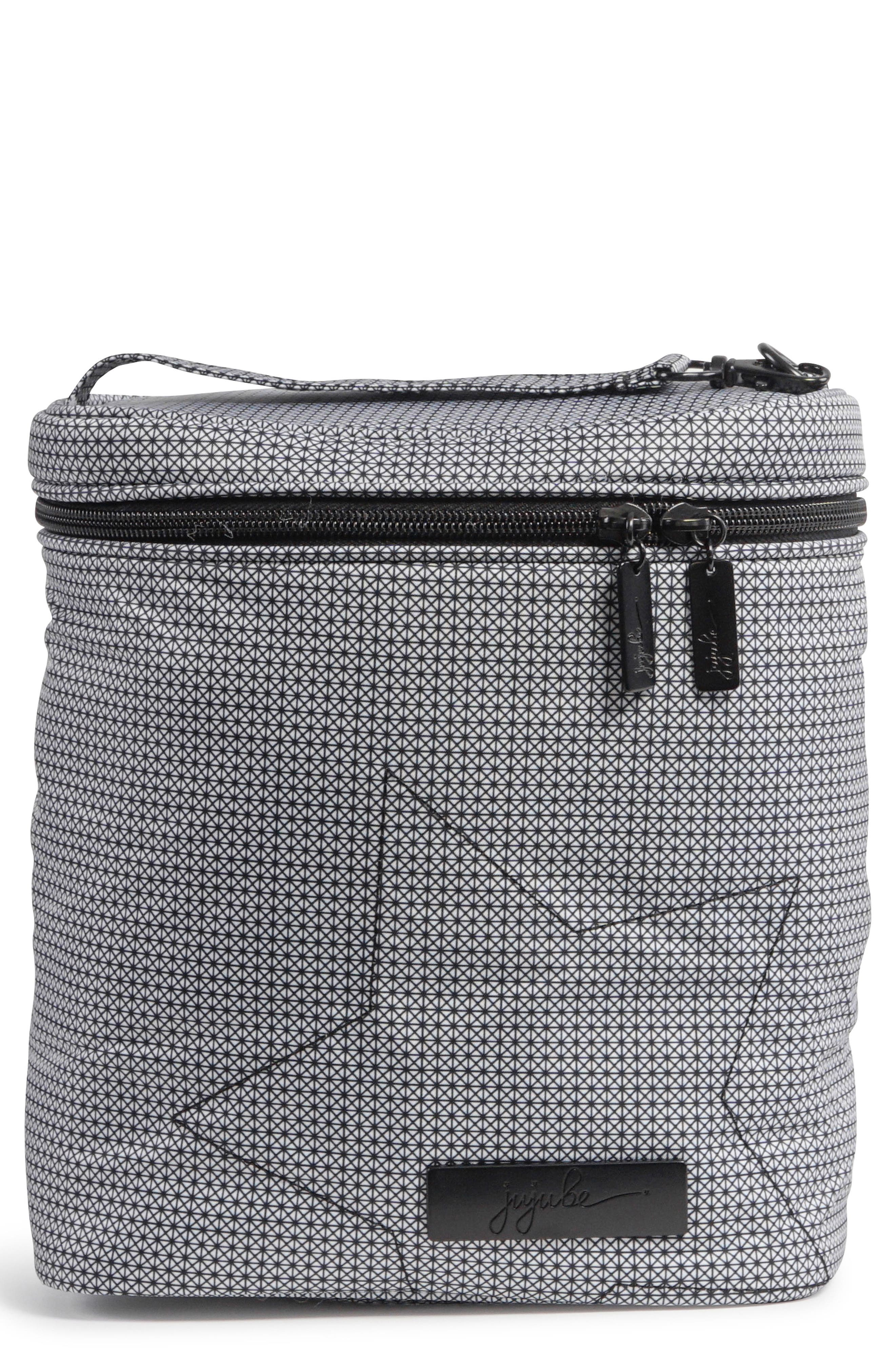 'Fuel Cell - Onyx Collection' Lunch Bag,                             Main thumbnail 1, color,                             Black Matrix