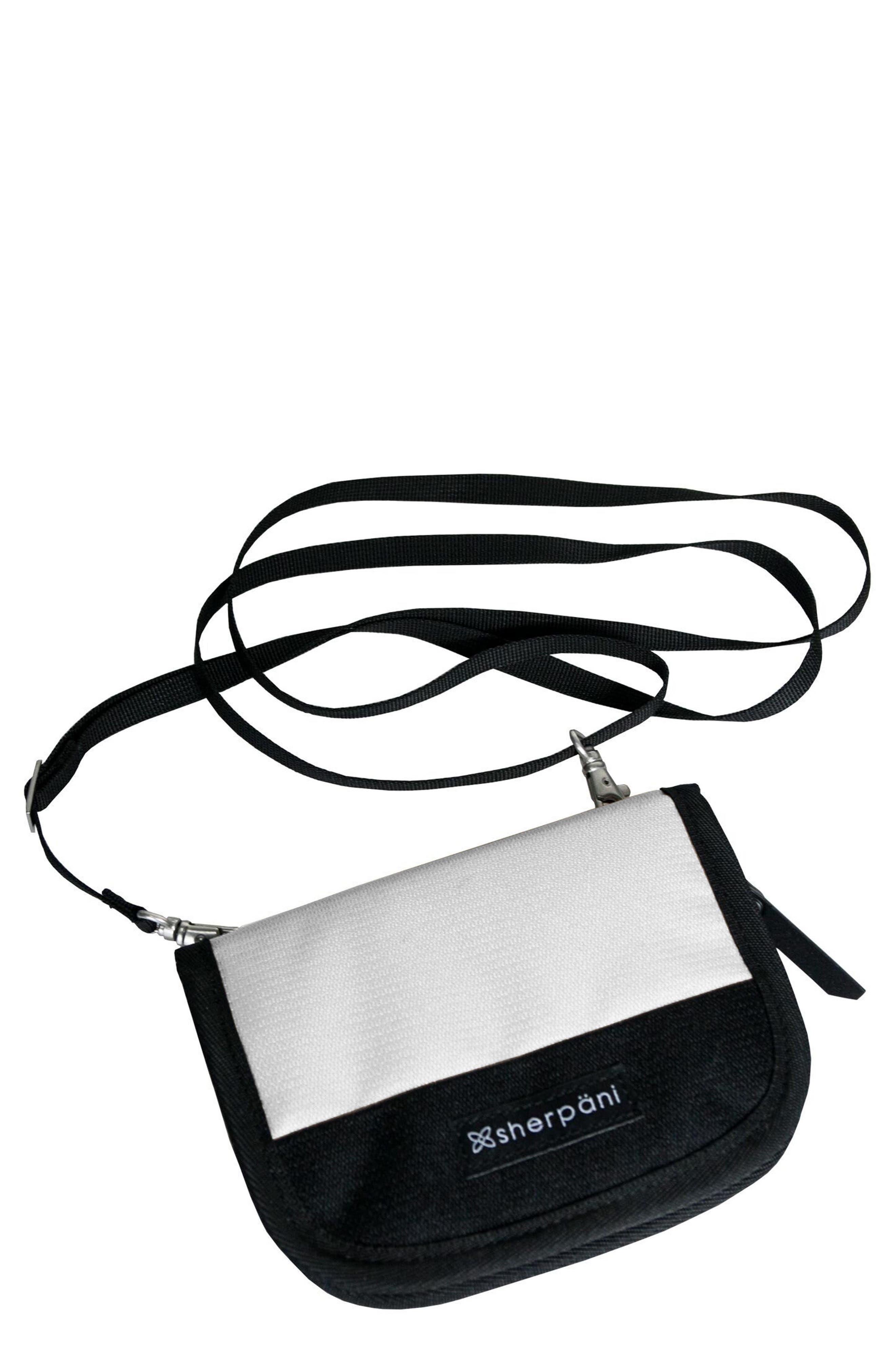 Zoe RFID Crossbody Wallet,                         Main,                         color, Birch
