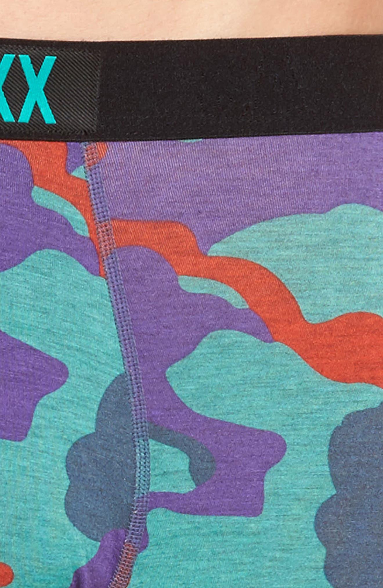 Alternate Image 4  - SAXX Vibe Stretch Boxer Briefs