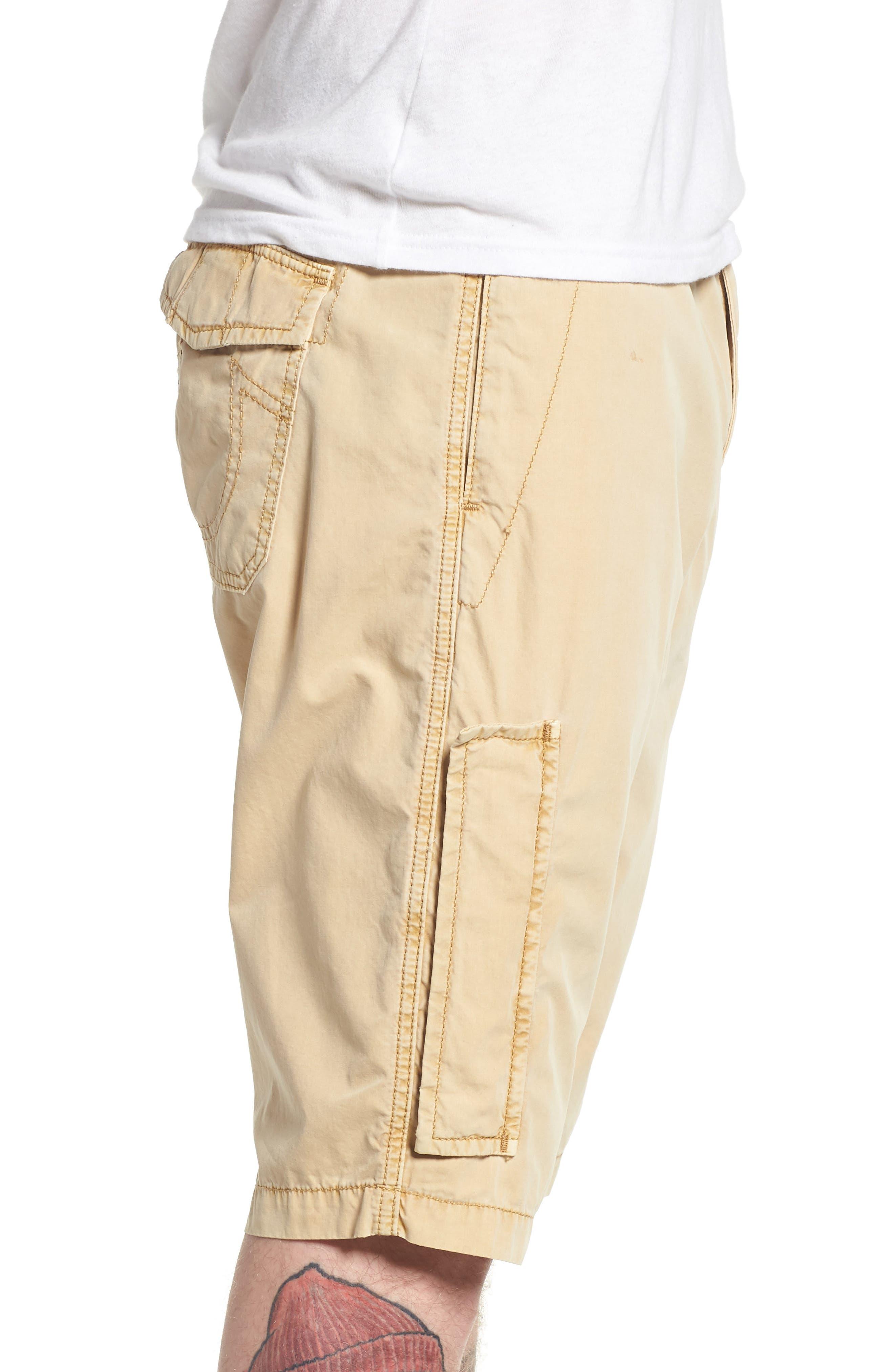 Alternate Image 3  - True Religion Brand Jeans Officer Field Shorts