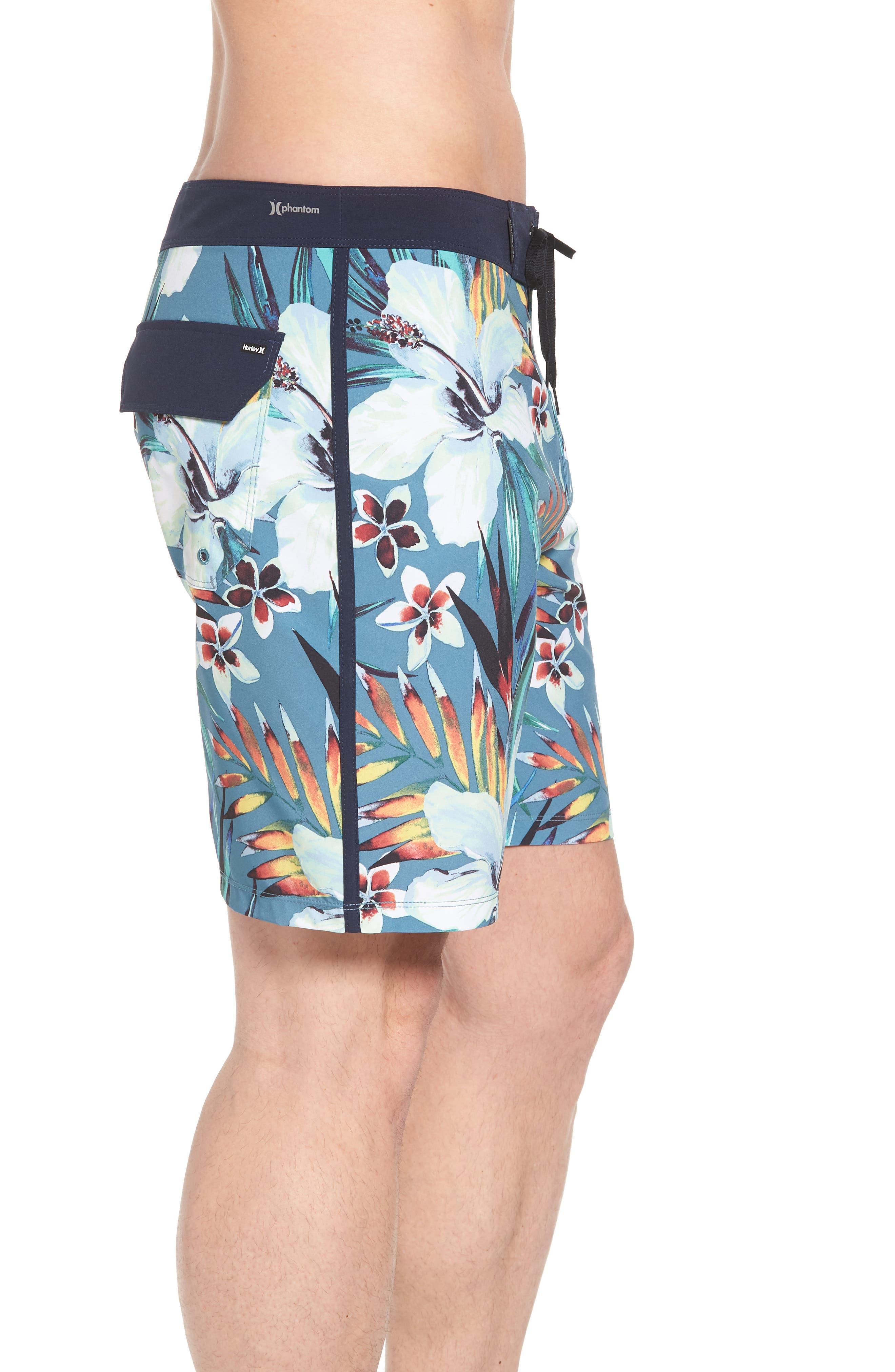 Alternate Image 3  - Hurley Phantom Garden Board Shorts
