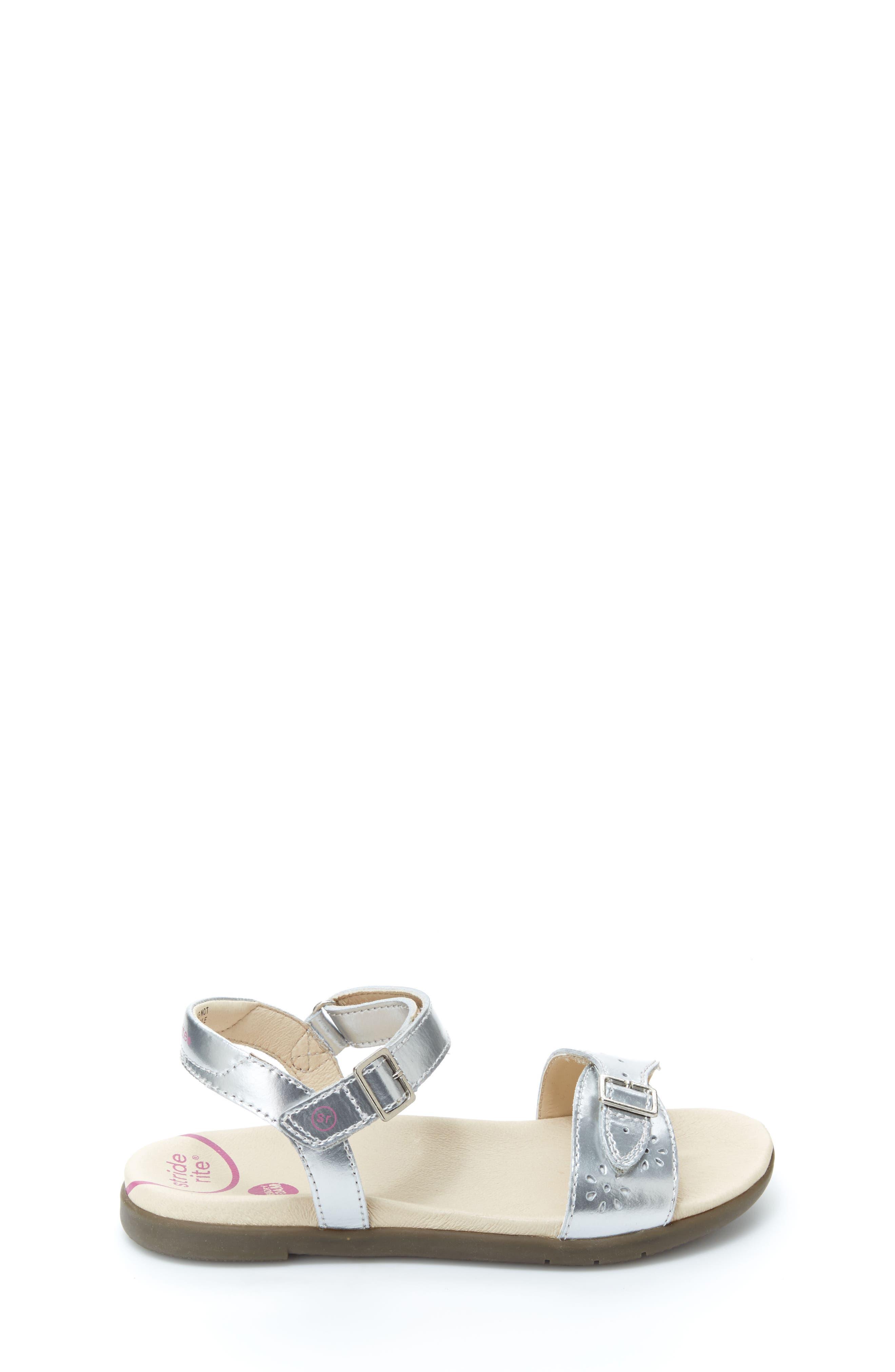 Roxanna Sandal,                             Alternate thumbnail 2, color,                             Silver Patent Leather