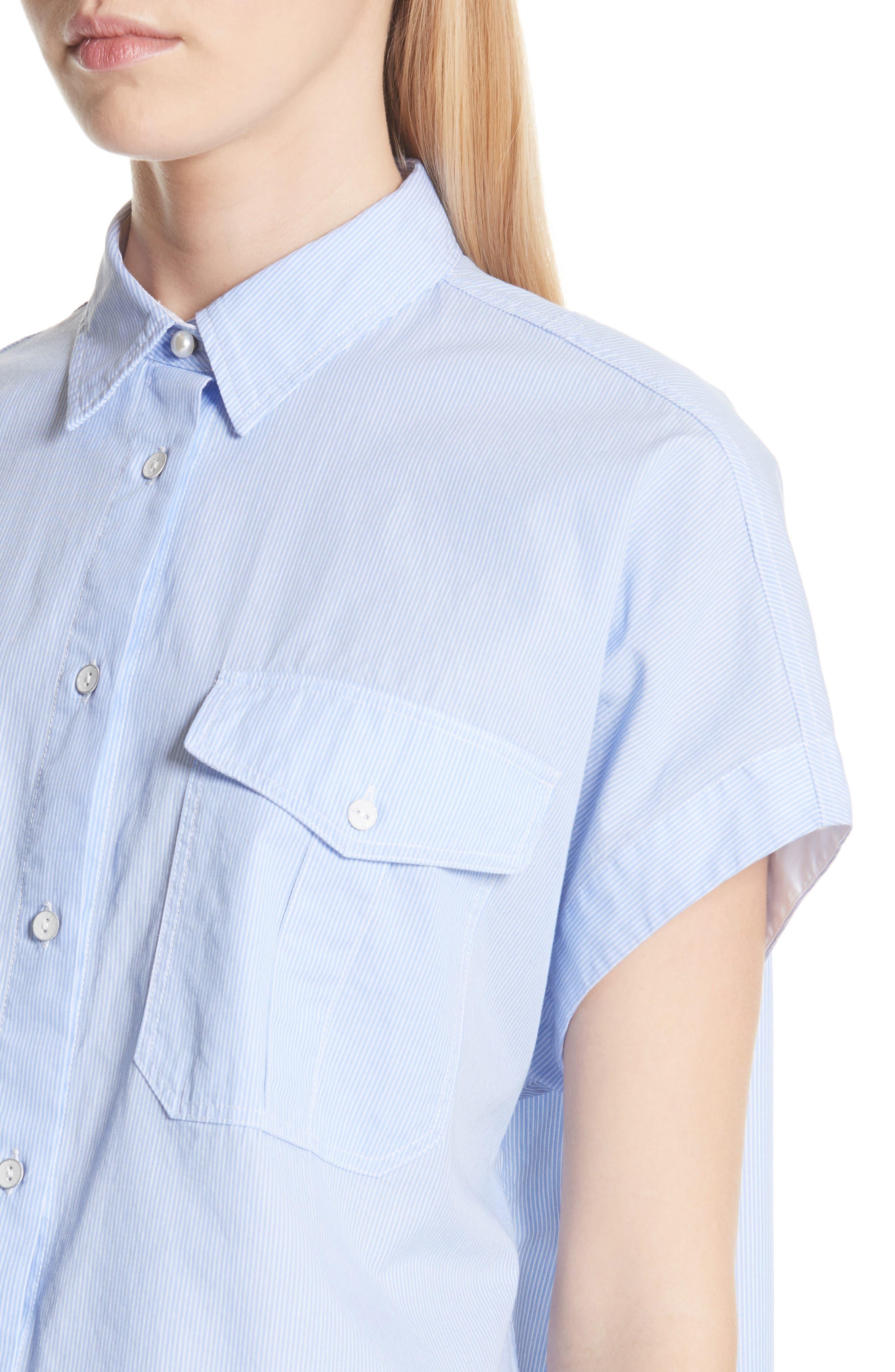 Pearson Shirt,                             Alternate thumbnail 4, color,                             Light Blue Multi