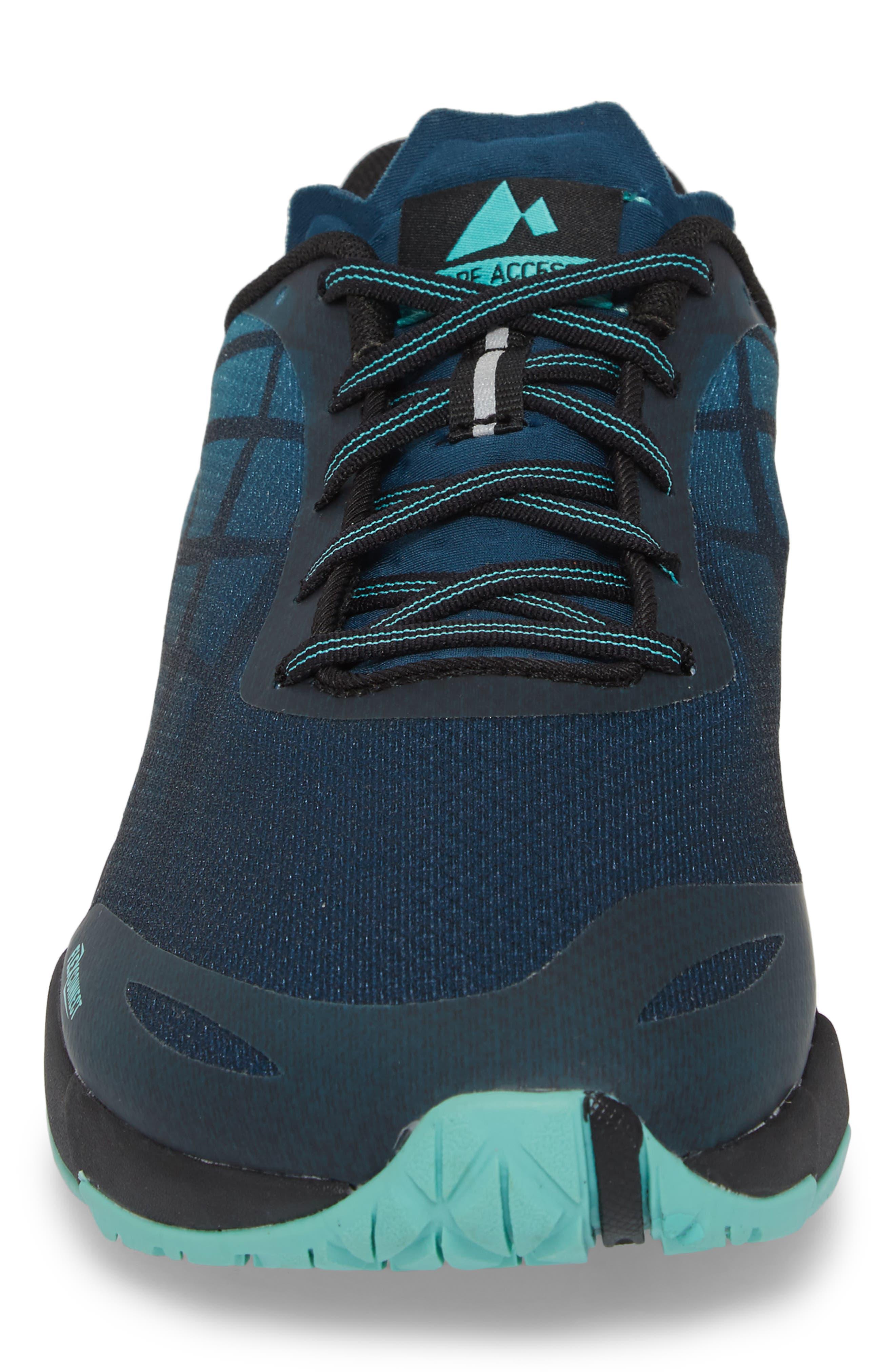 Bare Access Flex Running Shoe,                             Alternate thumbnail 4, color,                             Legion Blue