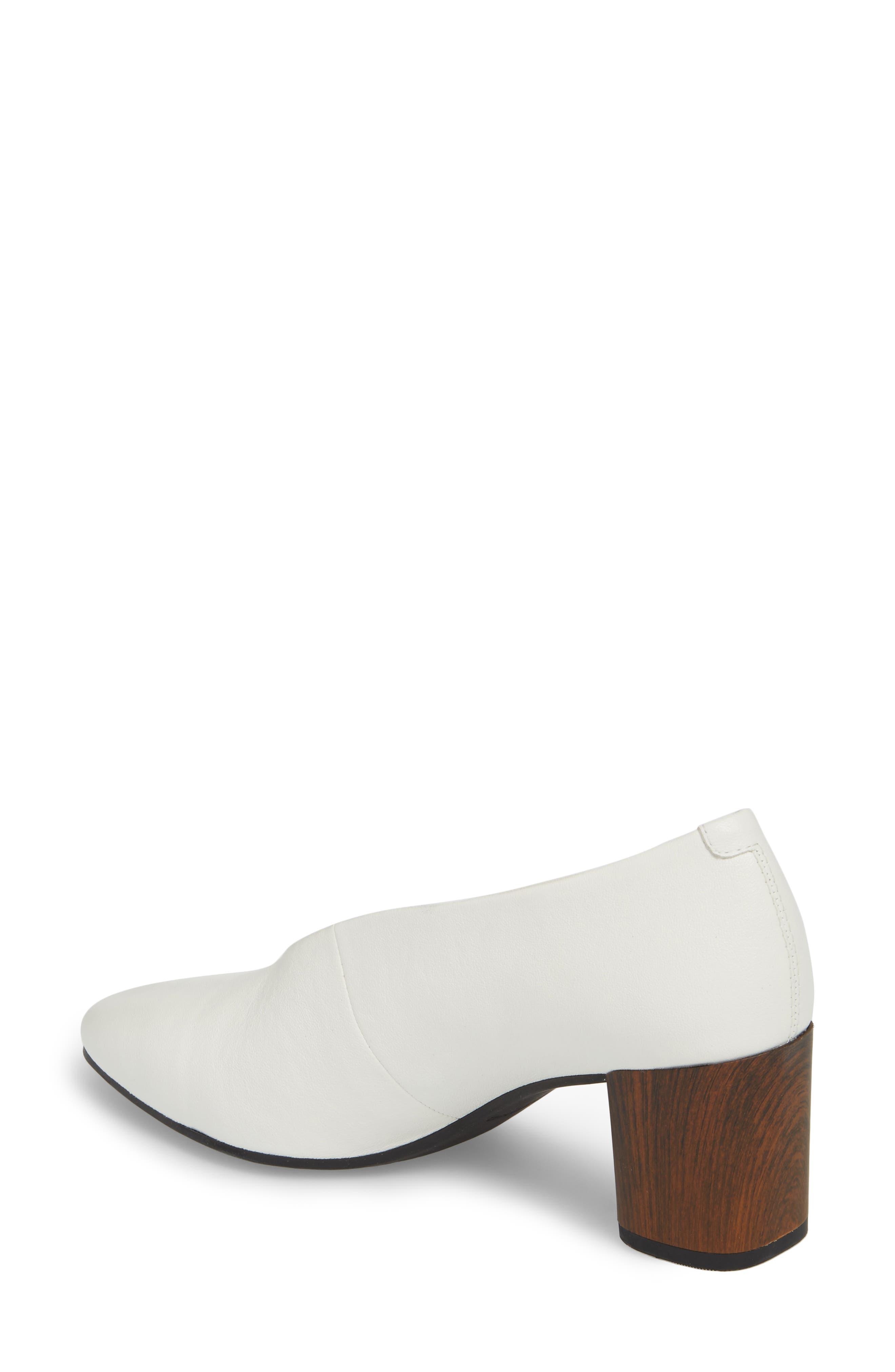 Eve Pump,                             Alternate thumbnail 2, color,                             Cream White Leather
