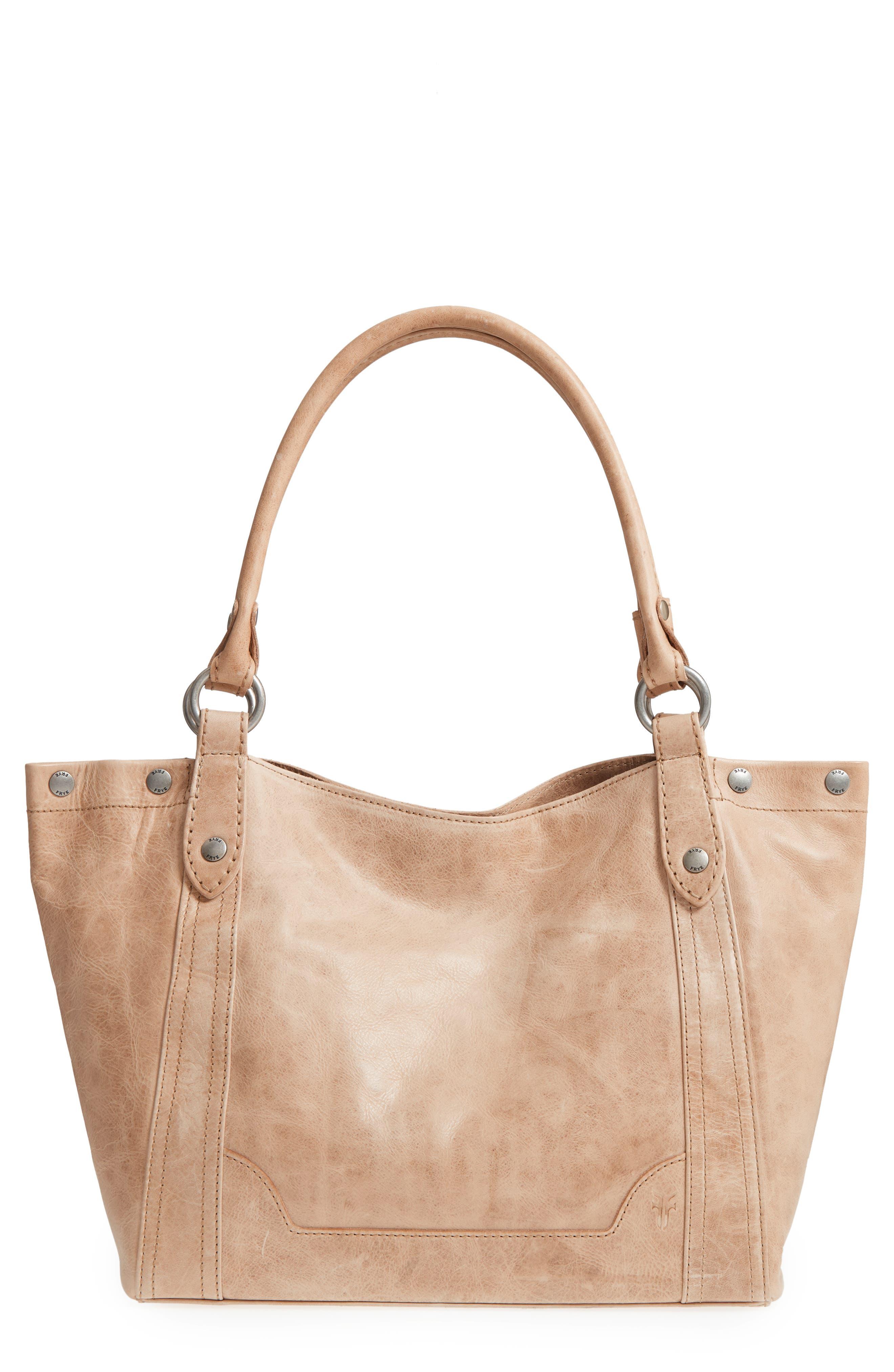 Alternate Image 1 Selected - Frye Melissa Leather Shoulder Bag