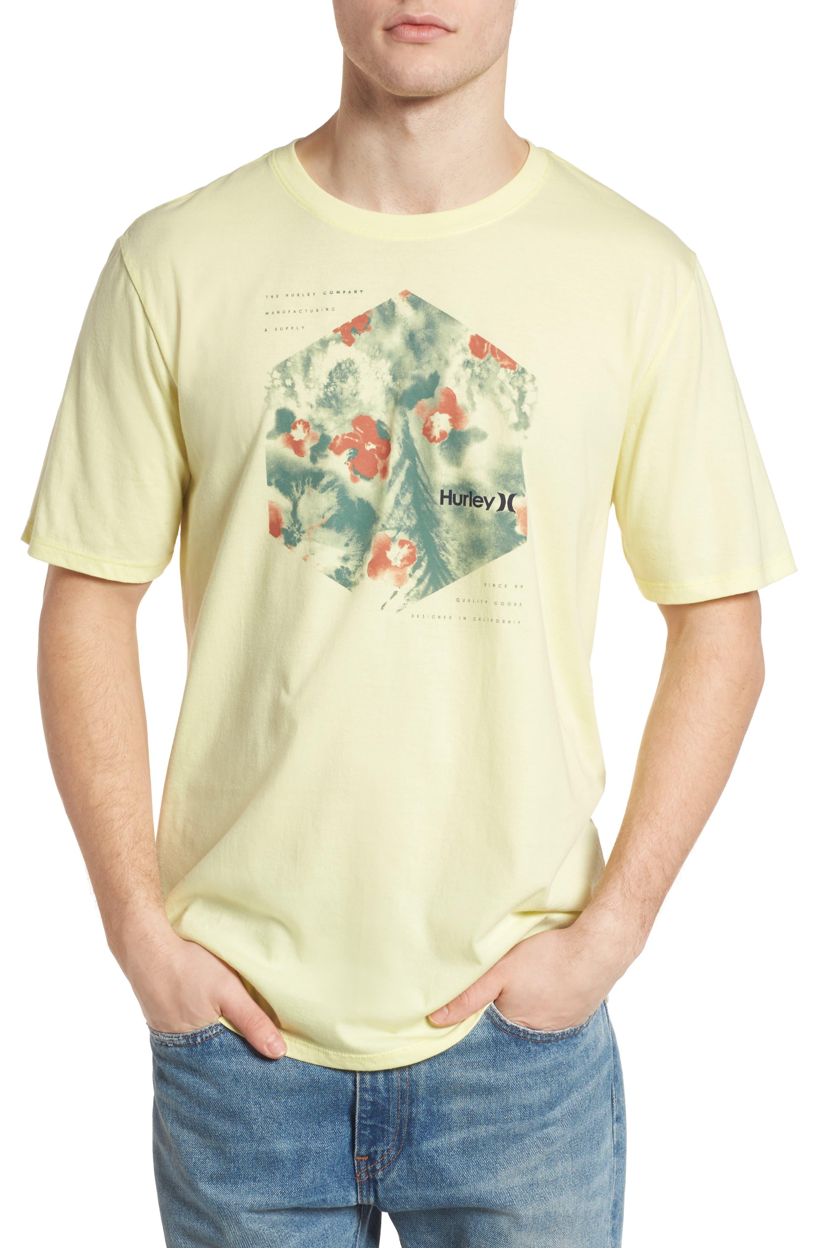 Alternate Image 1 Selected - Hurley Watercolor T-Shirt
