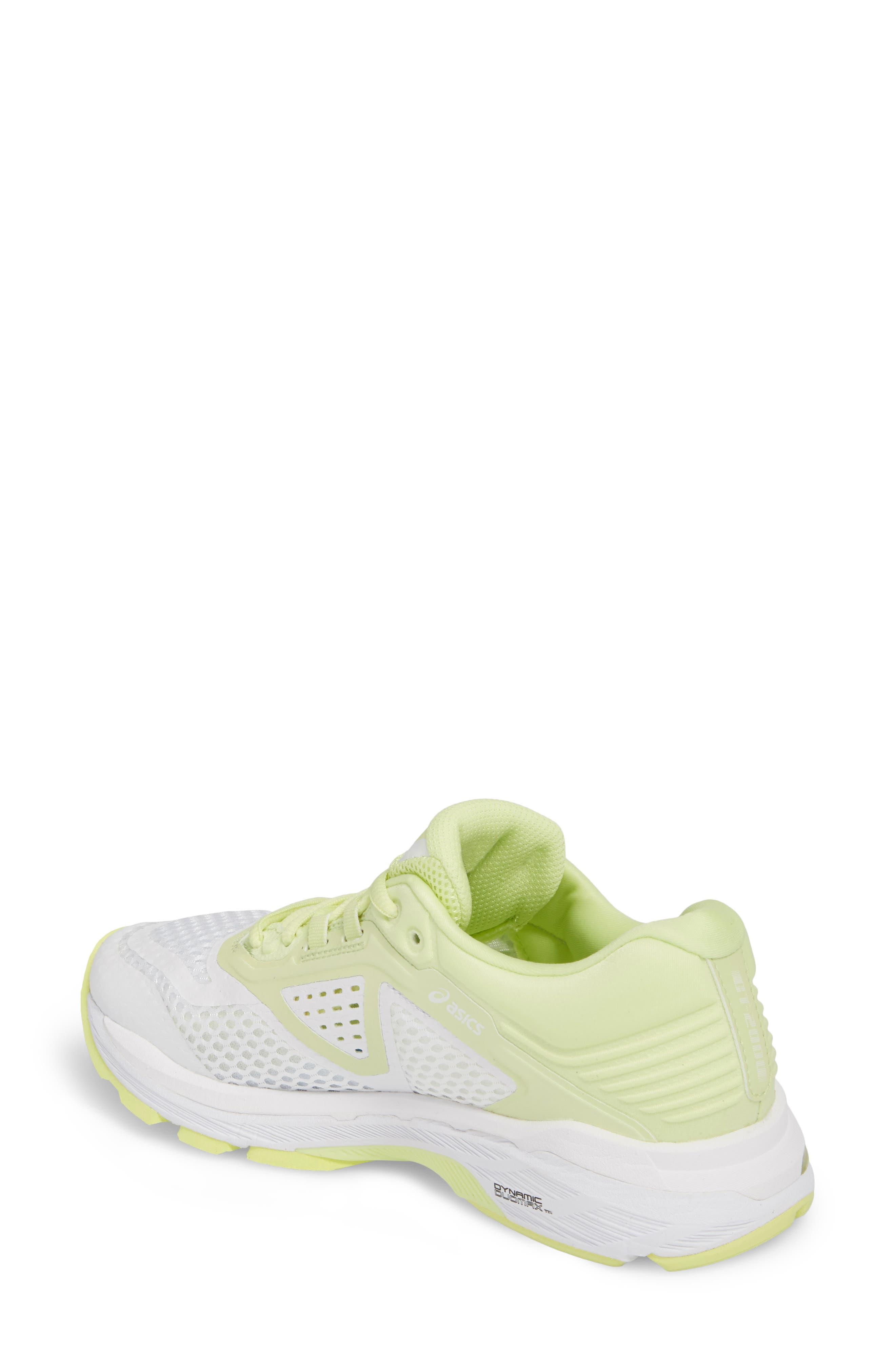 GT-2000 6 Running Shoe,                             Alternate thumbnail 2, color,                             White/ Silver/ Limelight