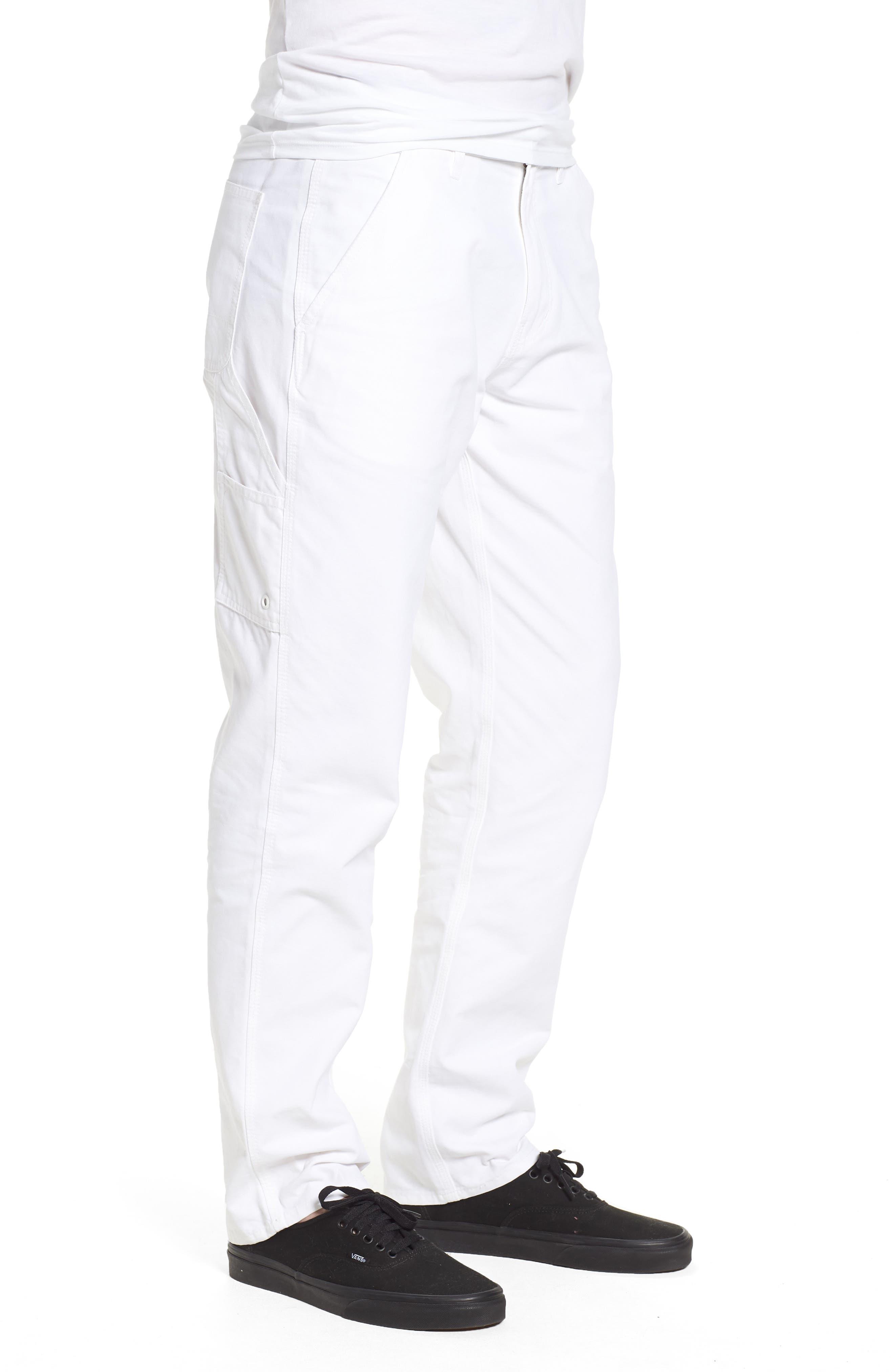 Westport Utility Pants,                             Alternate thumbnail 3, color,                             White