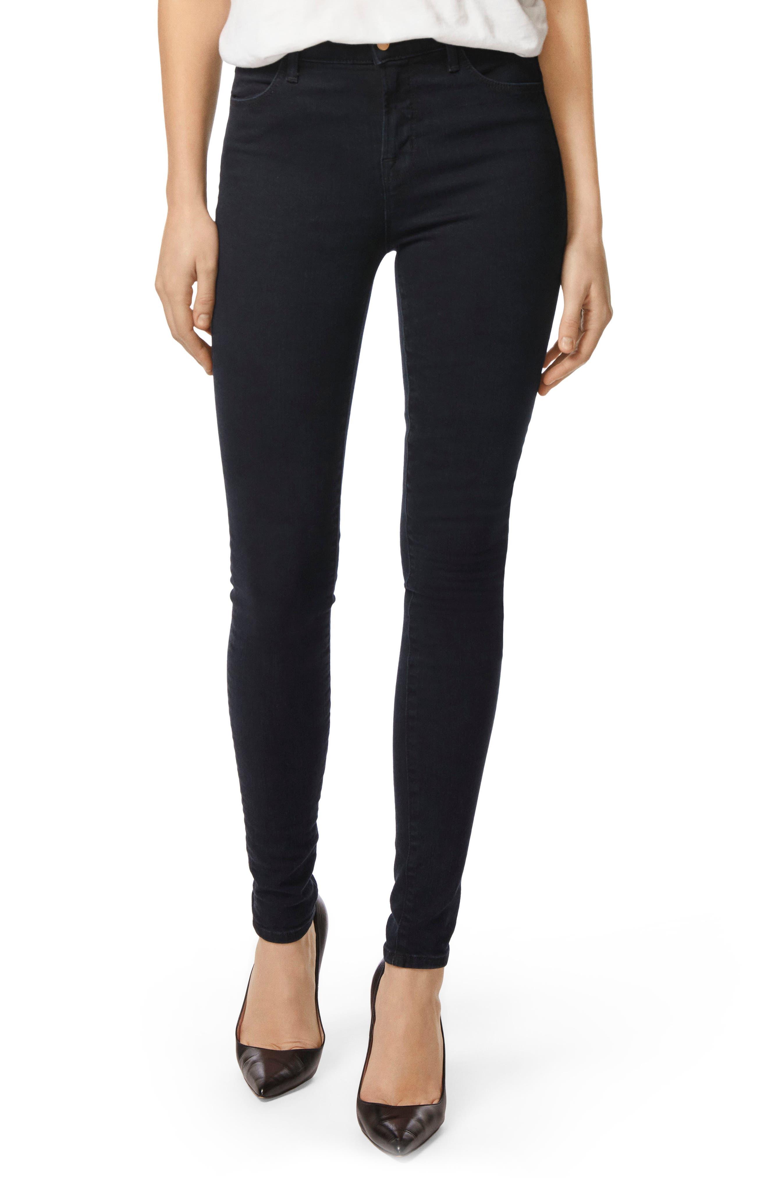 J Brand Maria High Waist Skinny Jeans (Bluebird) (Nordstrom Exclusive)