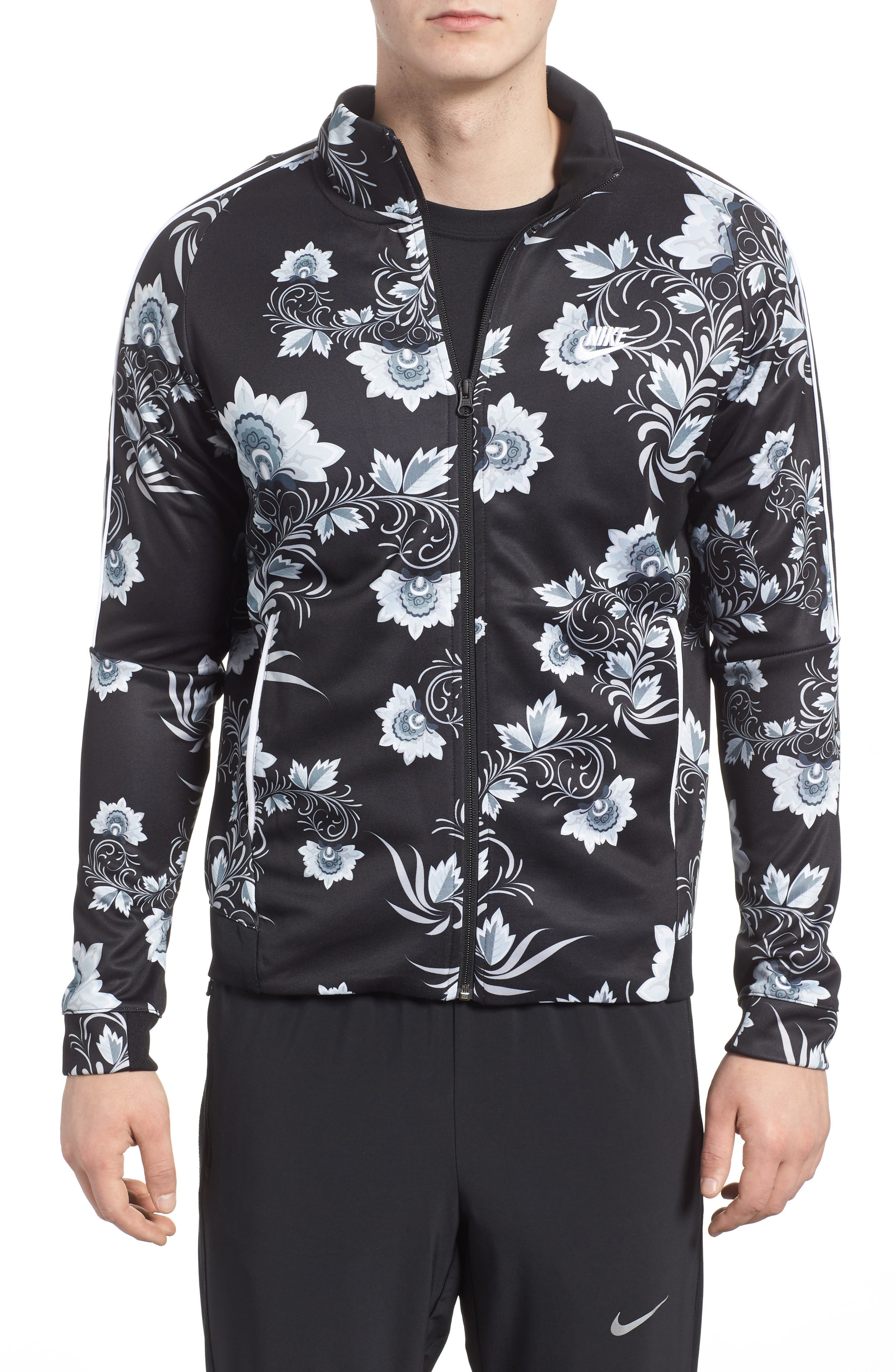 NSW Tribute Jacket,                             Main thumbnail 1, color,                             White/ Black/ White